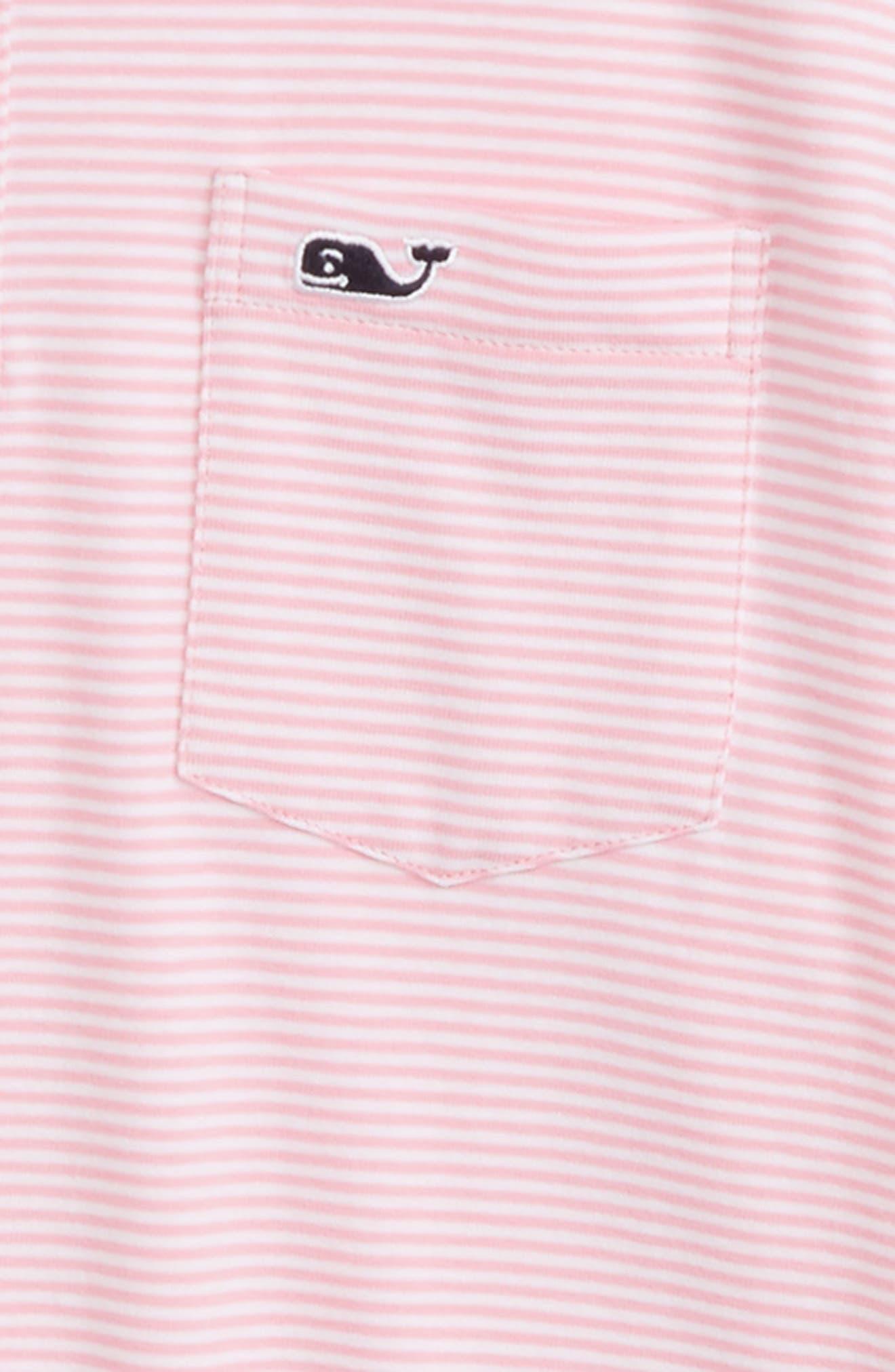 Edgartown Stripe Polo,                             Alternate thumbnail 2, color,                             Cupcake