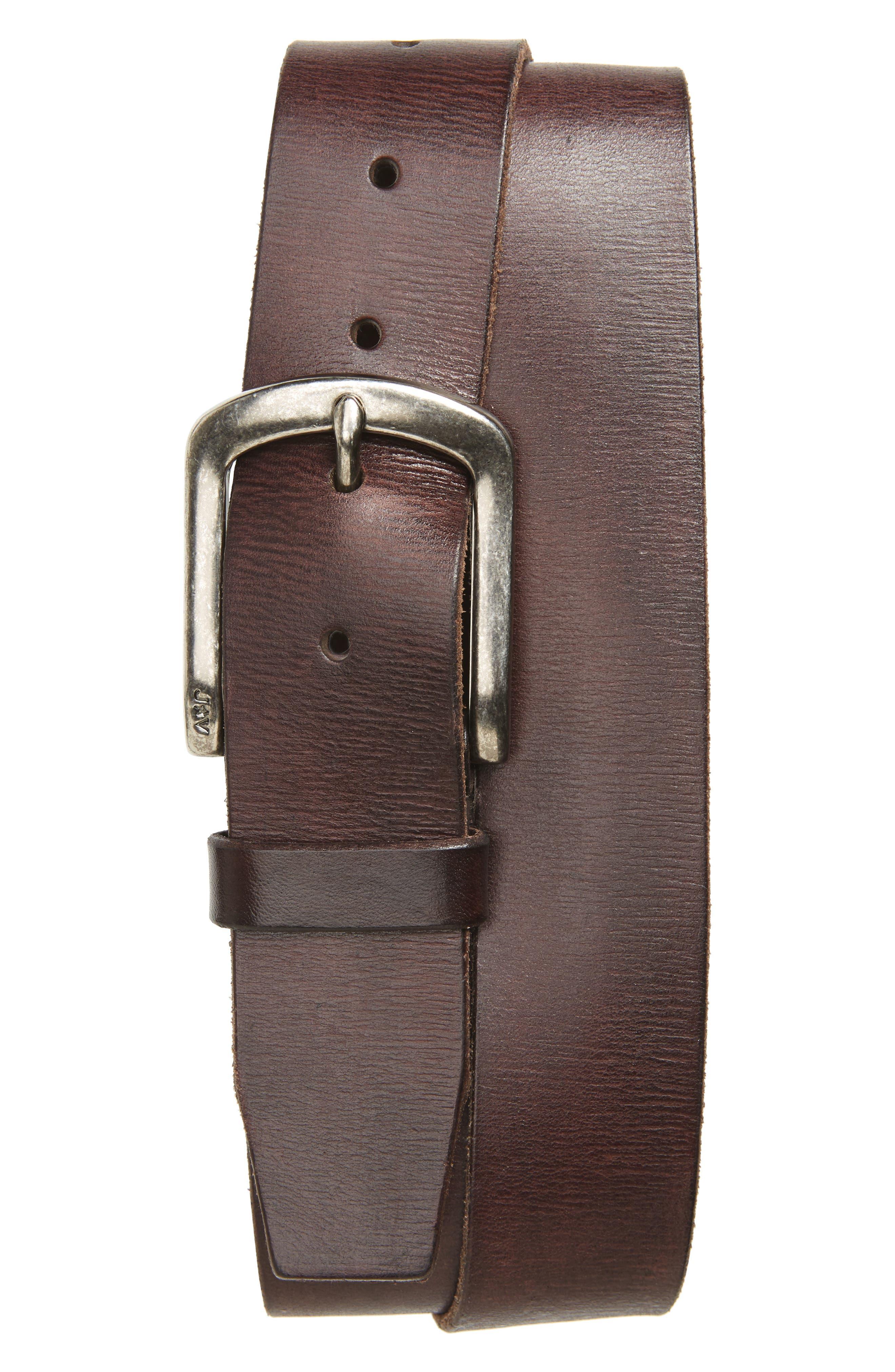 John Varvatos Star USA Classic Leather Belt