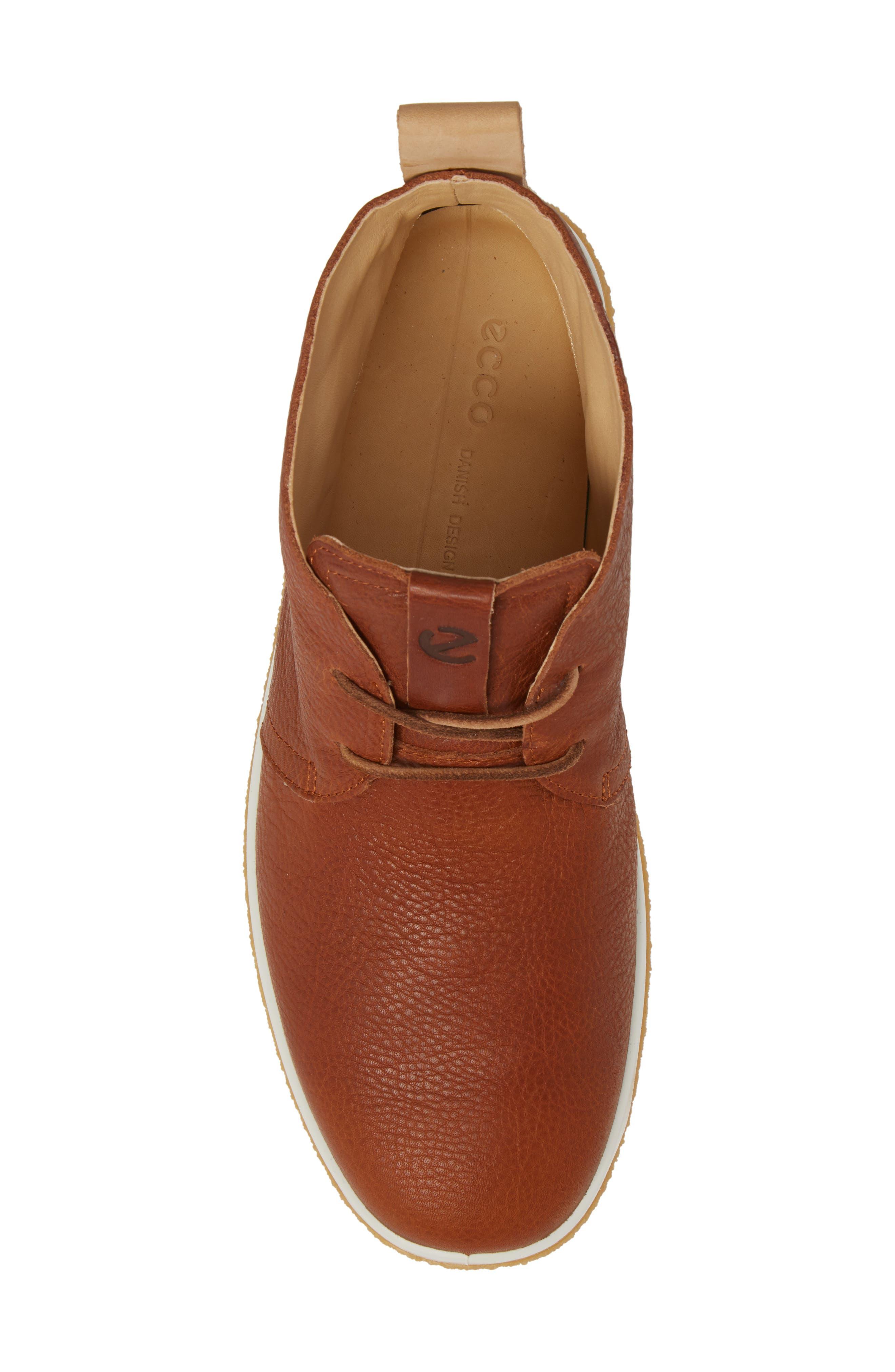 Crepetray Chukka Boot,                             Alternate thumbnail 5, color,                             Lion Leather