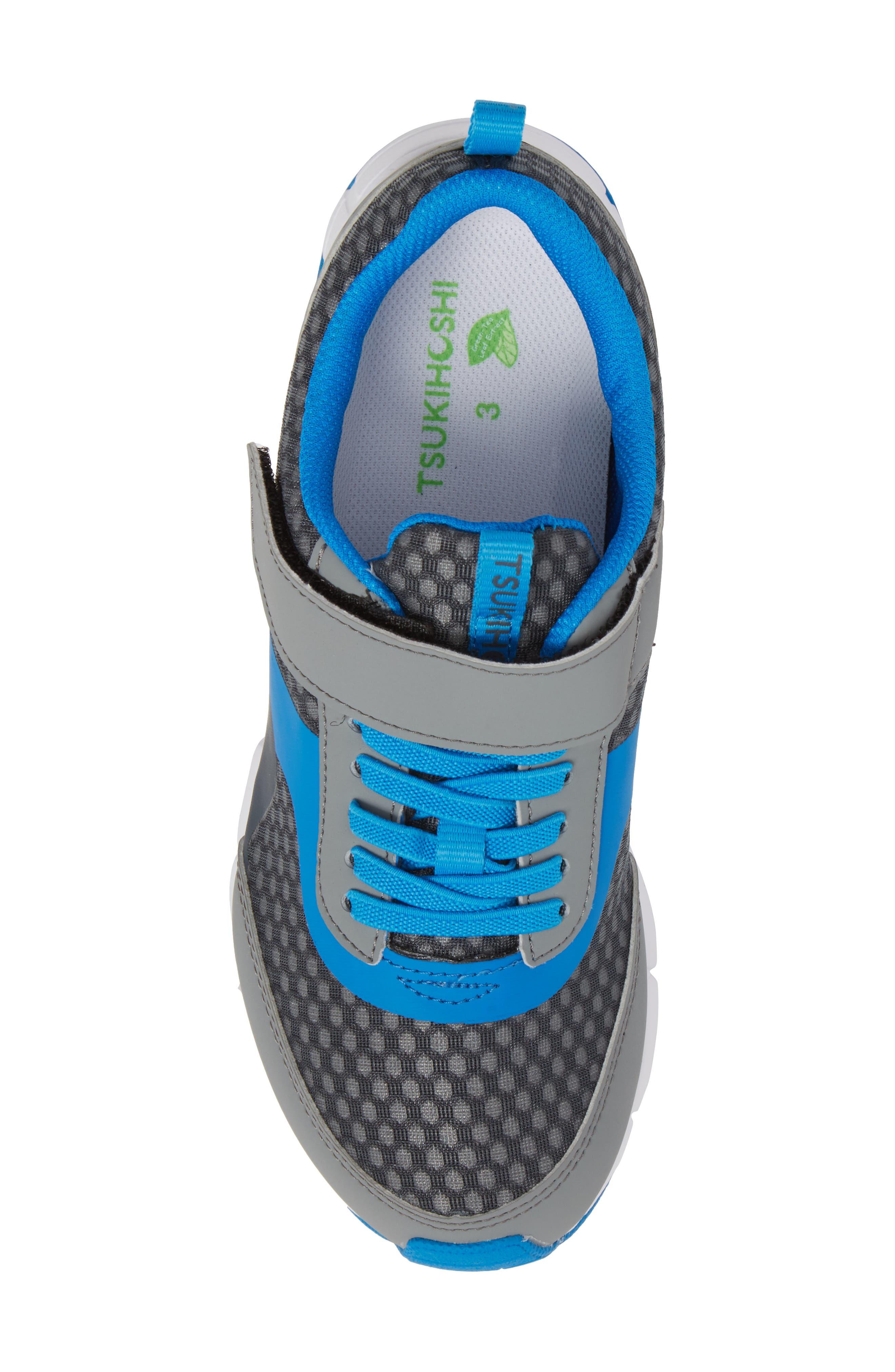 Sonic Washable Sneaker,                             Alternate thumbnail 5, color,                             Gray/ Royal