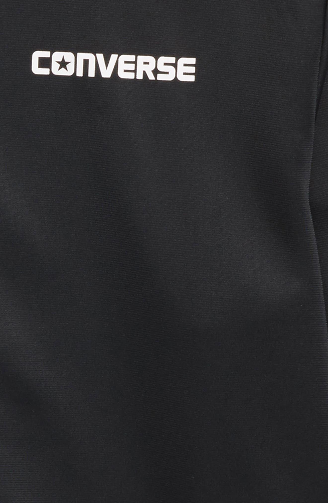 Heritage Snap Front Bomber Jacket,                             Alternate thumbnail 2, color,                             Black