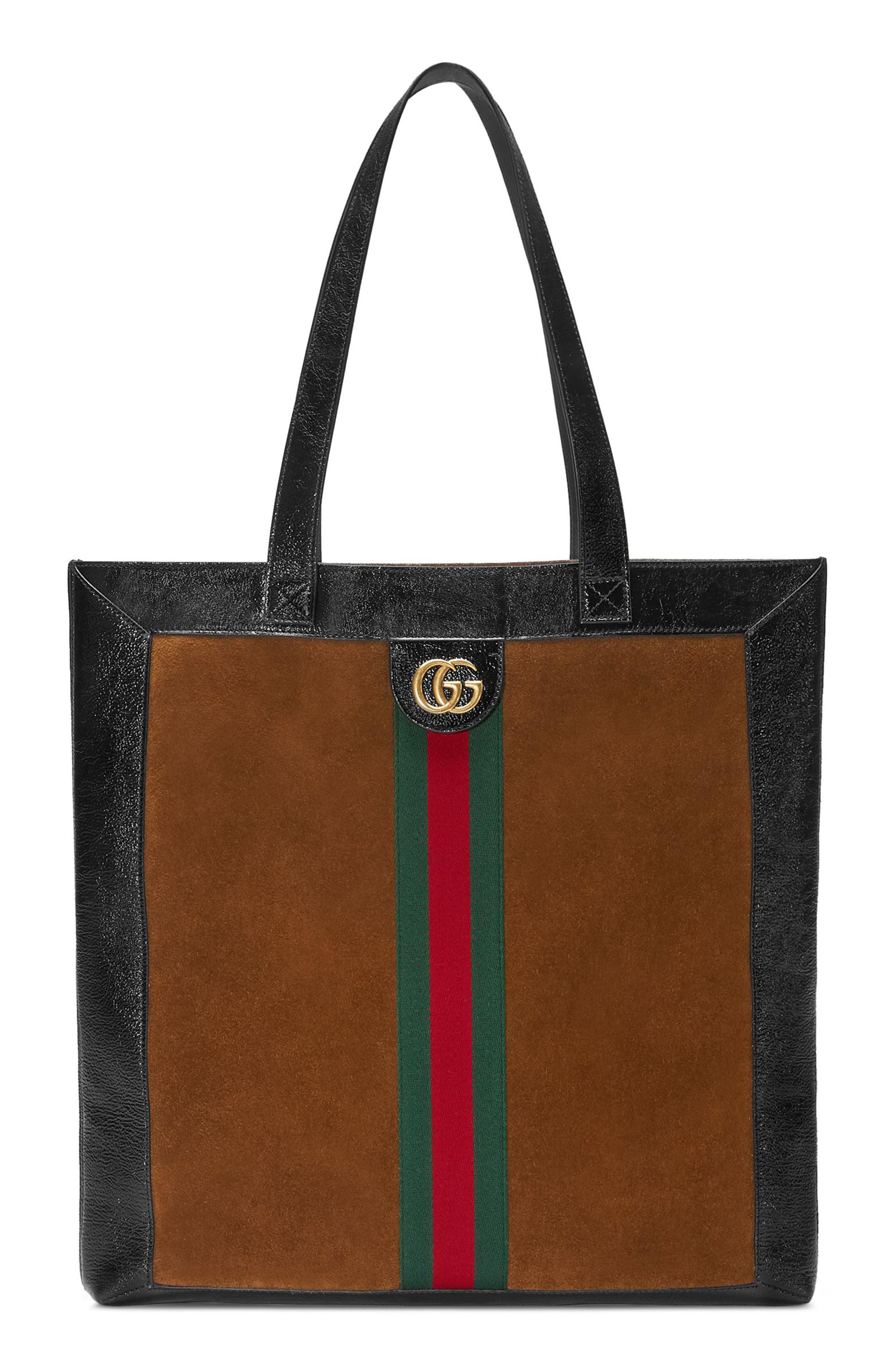Gucci Small Suede Tote Bag