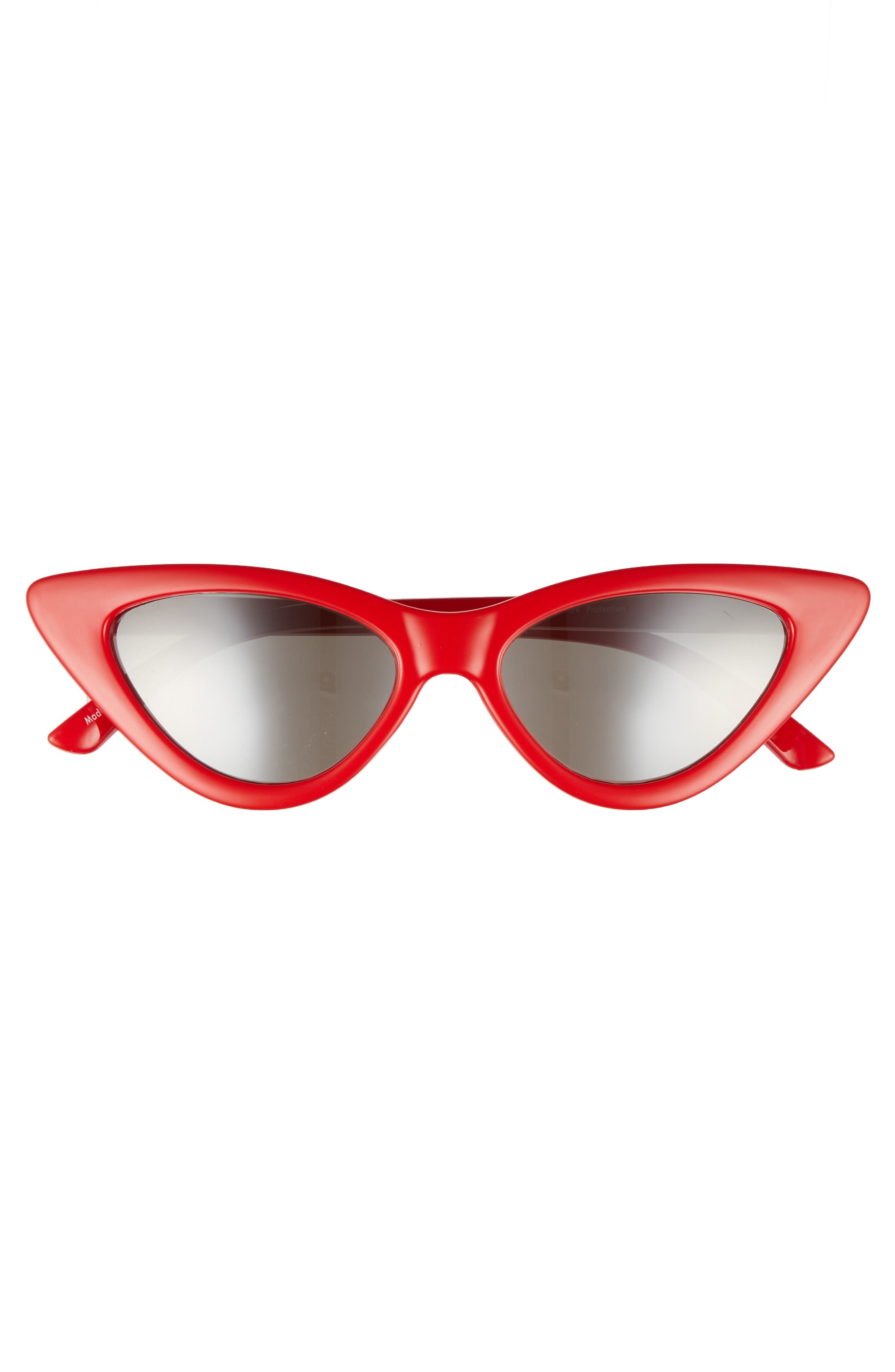 I Spy 53mm Exaggerated Cat Eye Sunglasses,                             Alternate thumbnail 3, color,                             Red