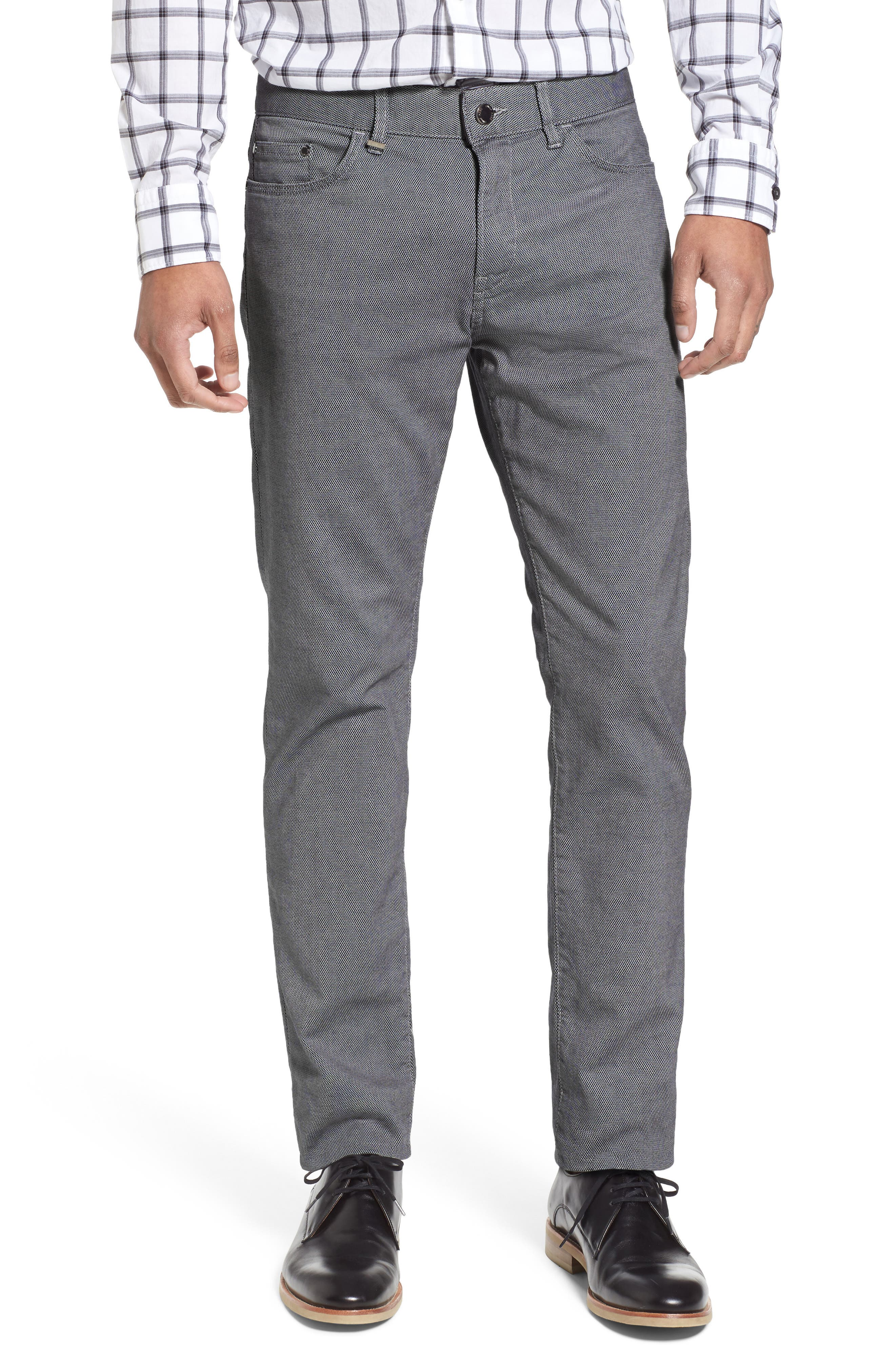 BOSS Delaware Slim Fit Structure Jeans