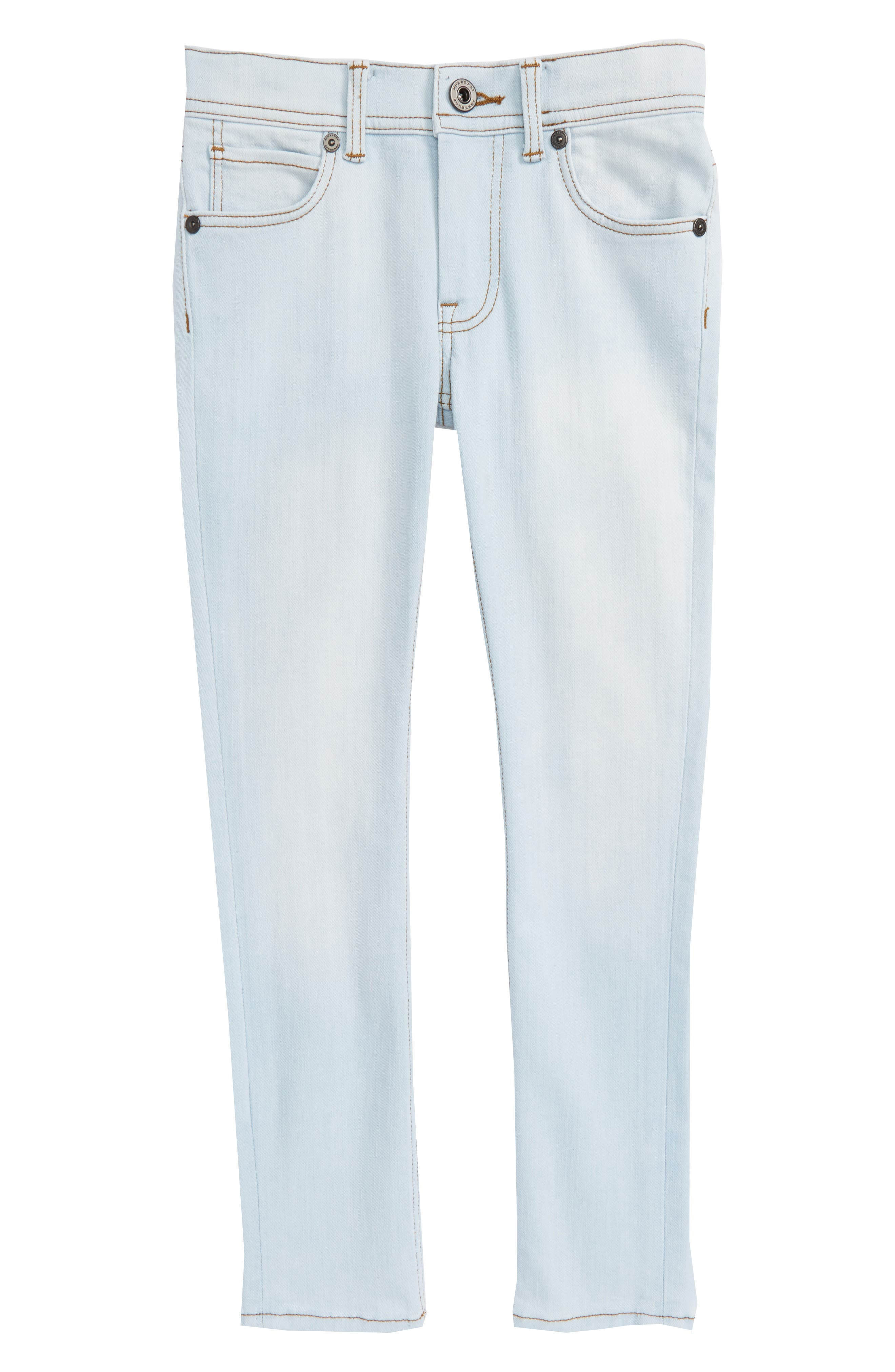 Skinny Jeans,                             Main thumbnail 1, color,                             Light Blue