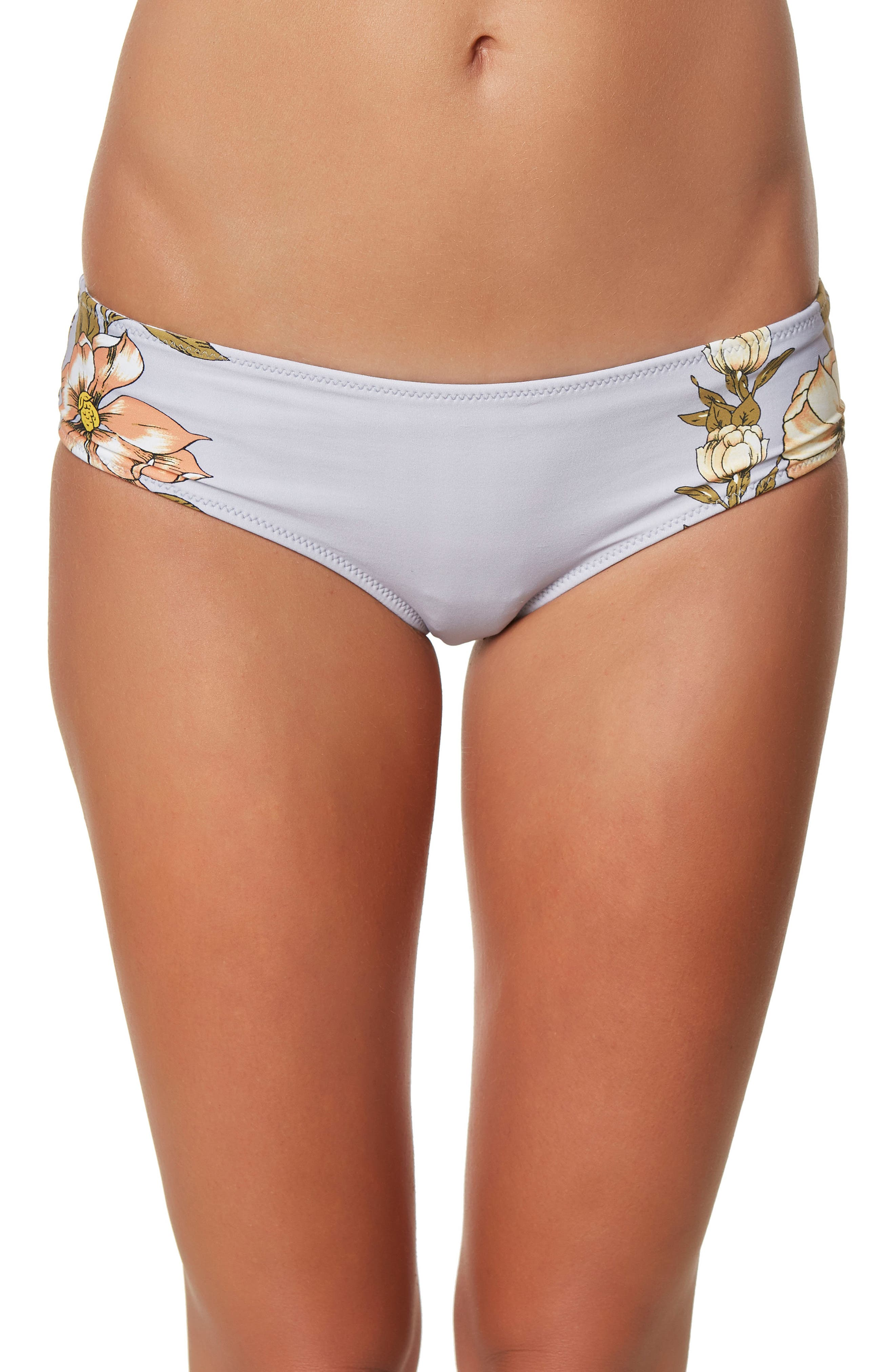 Main Image - O'Neill Aloha Floral Revo Hipster Bikini Bottoms