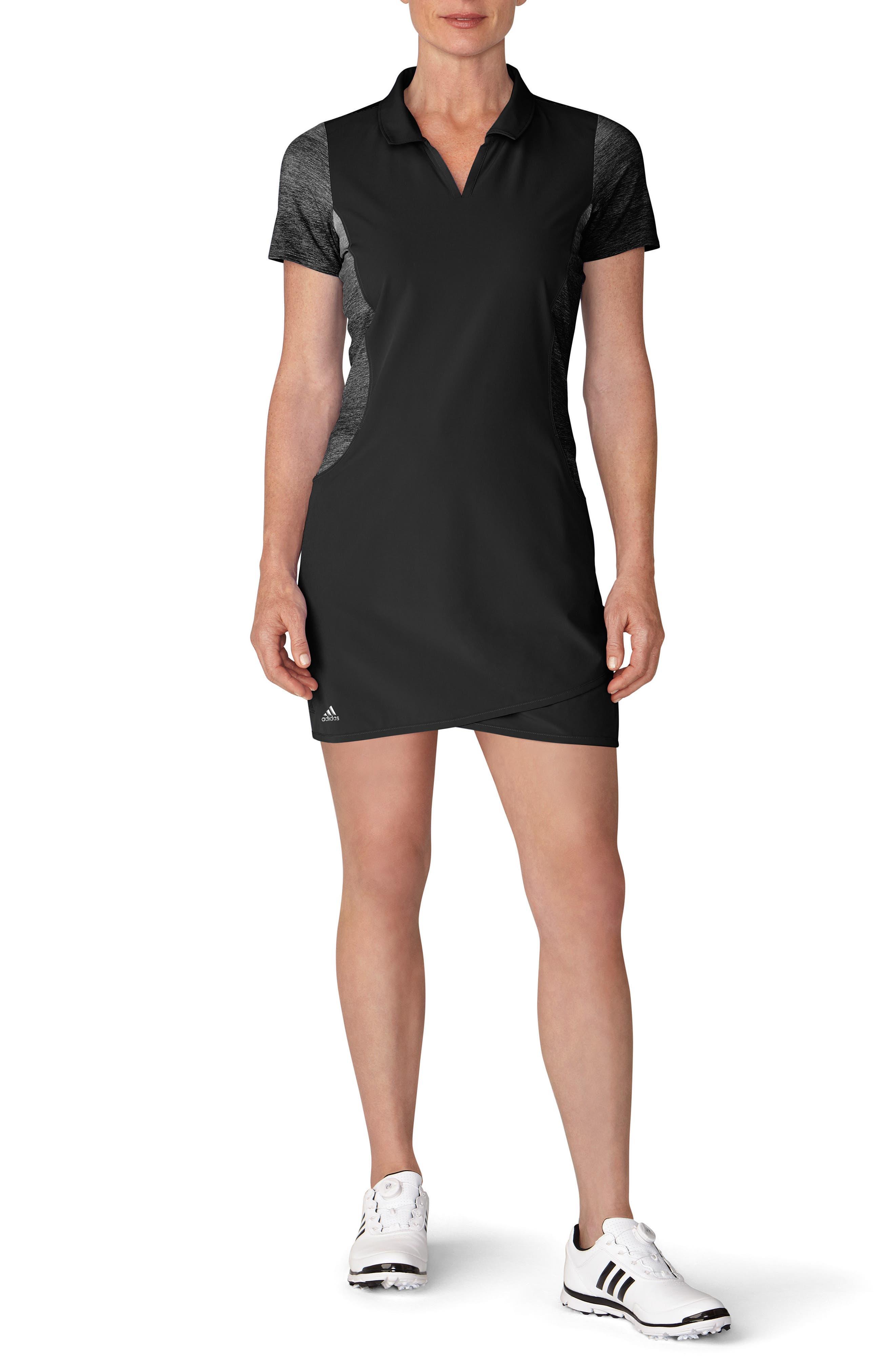 Rangewear Golf Dress,                             Main thumbnail 1, color,                             Black