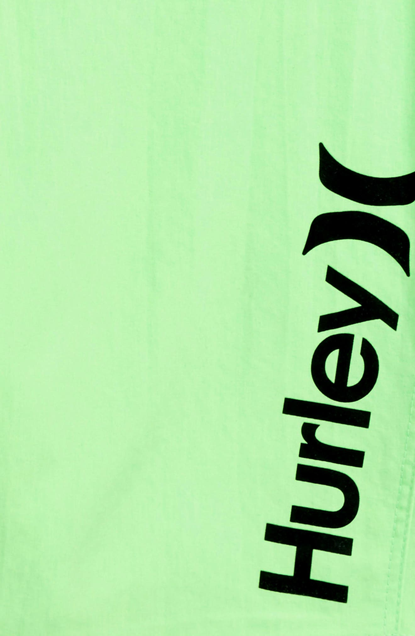 One and Only Dri-FIT Board Shorts,                             Alternate thumbnail 2, color,                             Neon Green Heather