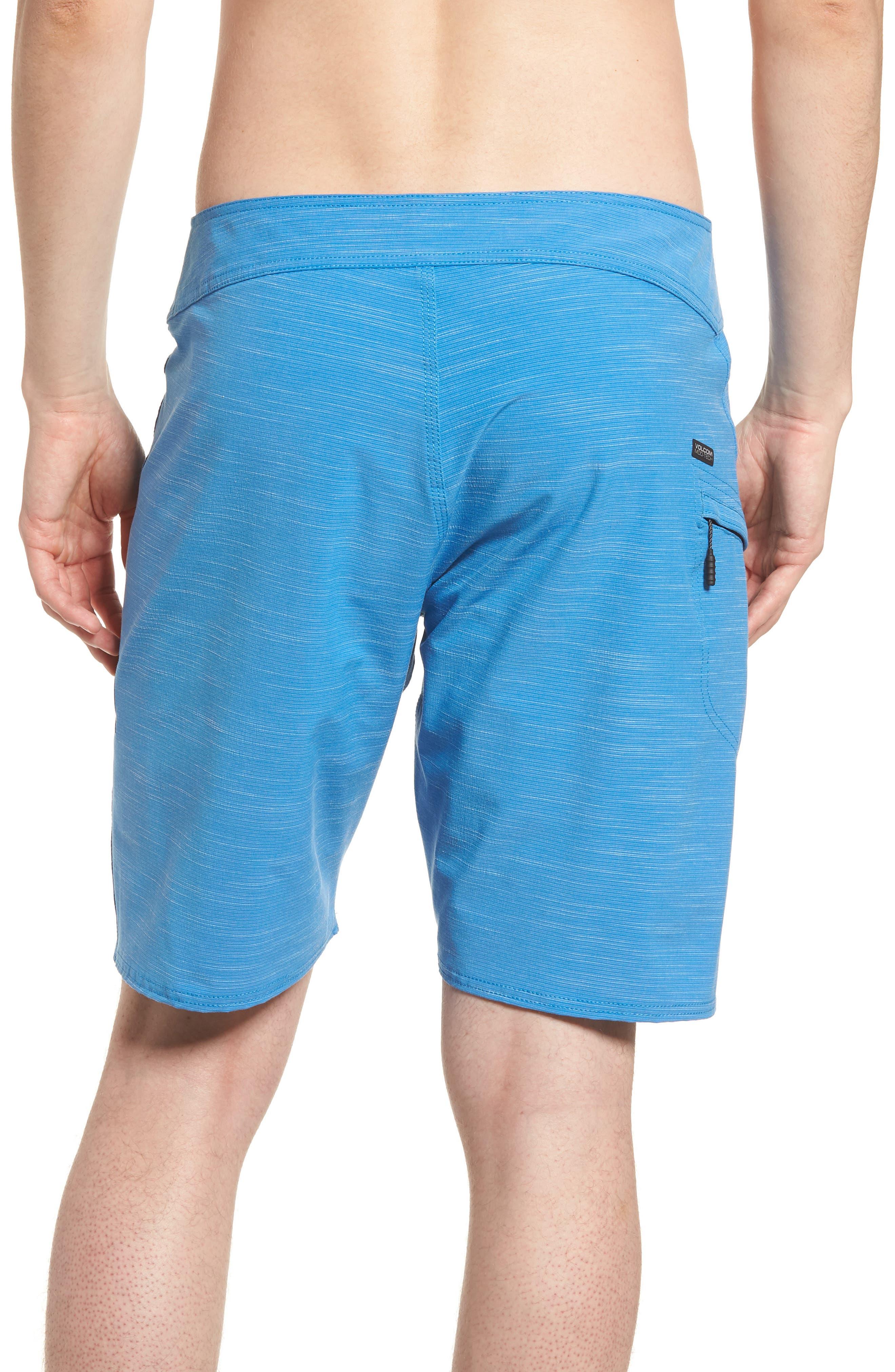 Lido Slub Modern Board Shorts,                             Alternate thumbnail 2, color,                             Blue Free
