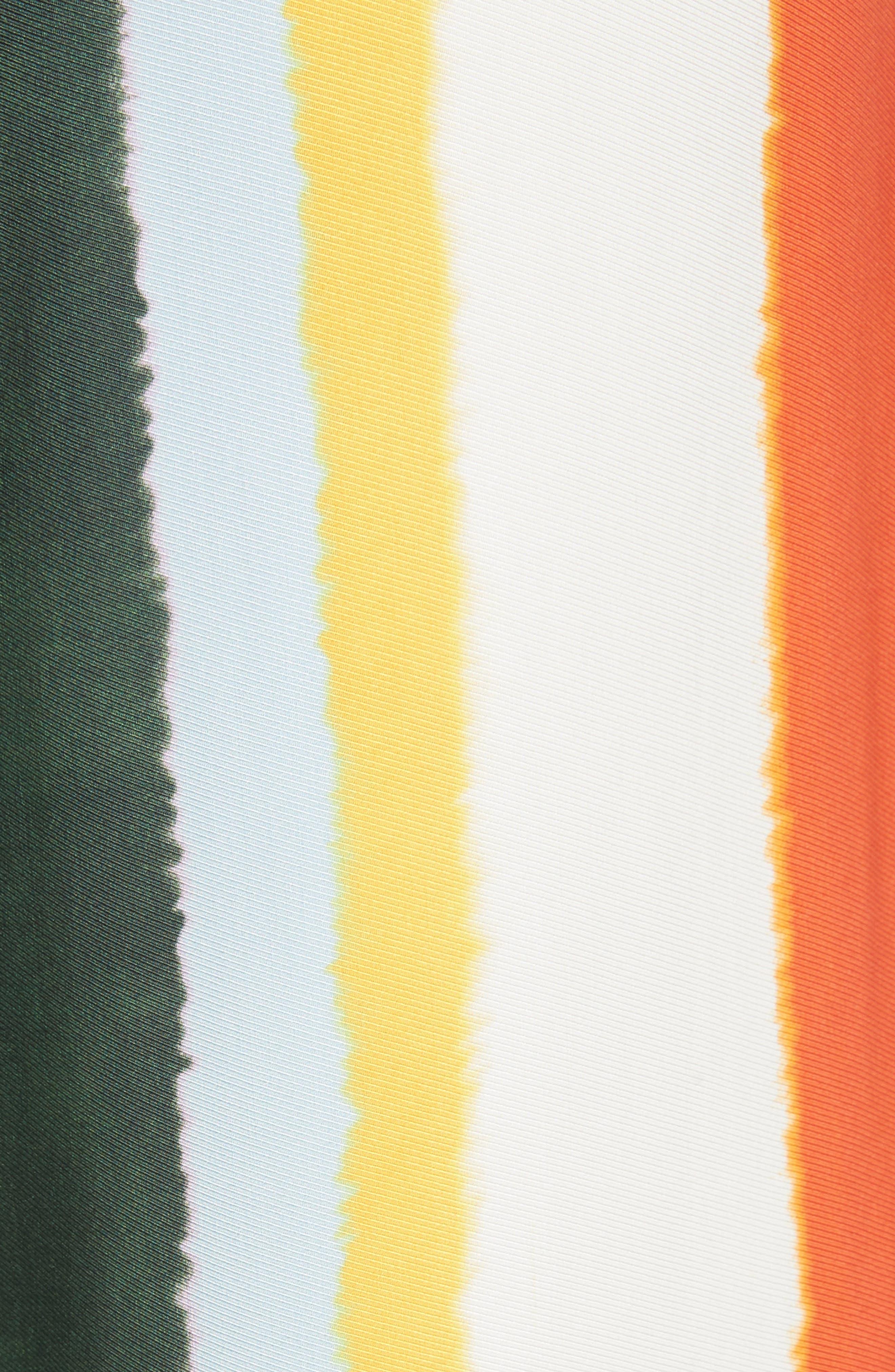 Fiona Stripe Wide Leg Pants,                             Alternate thumbnail 5, color,                             Balloon Stripe