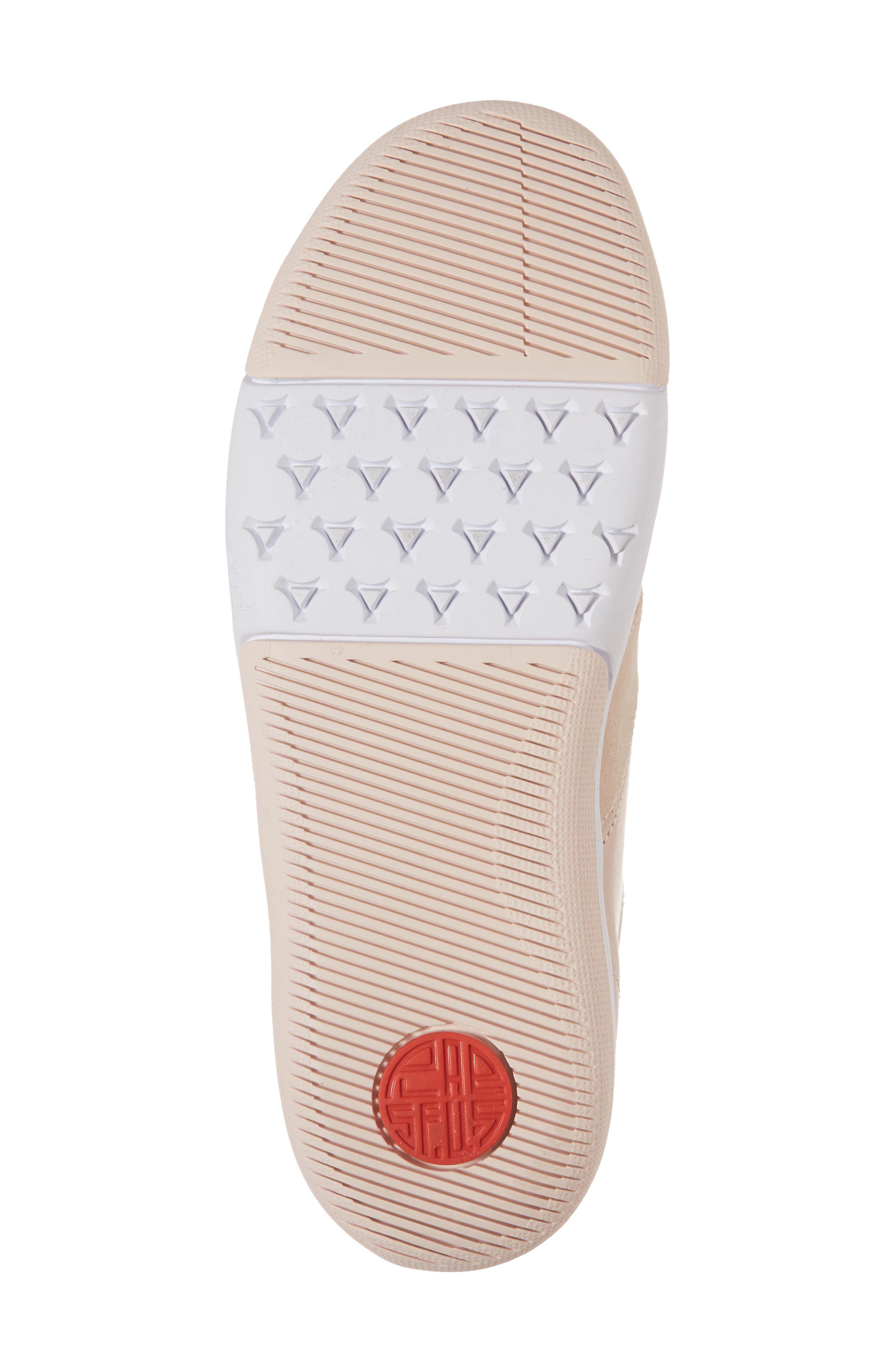 Larkin Sneaker,                             Alternate thumbnail 6, color,                             Cameo Rose Leather