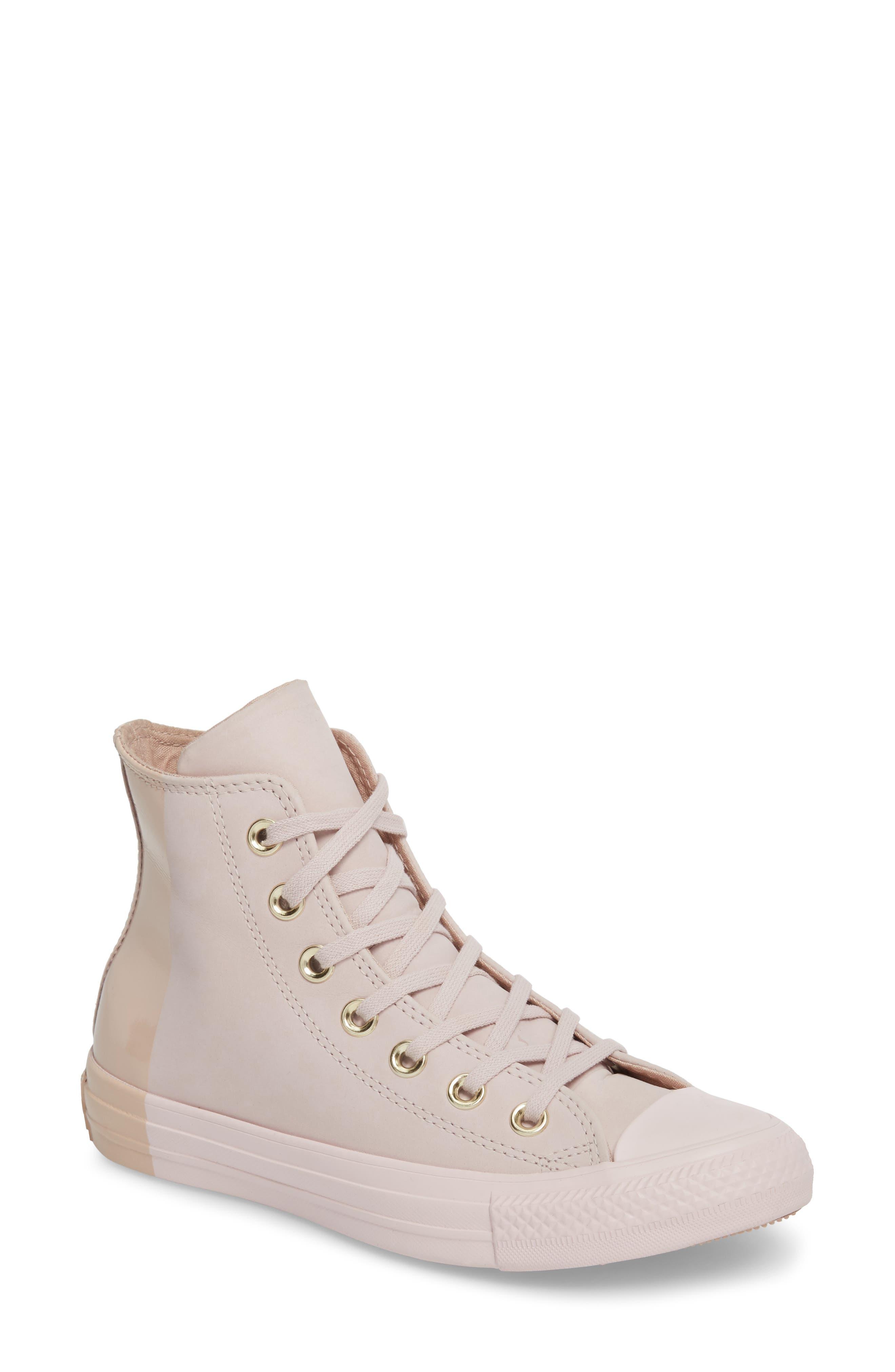 Converse Chuck Taylor® All Star® Blocked High Top Sneaker (Women)