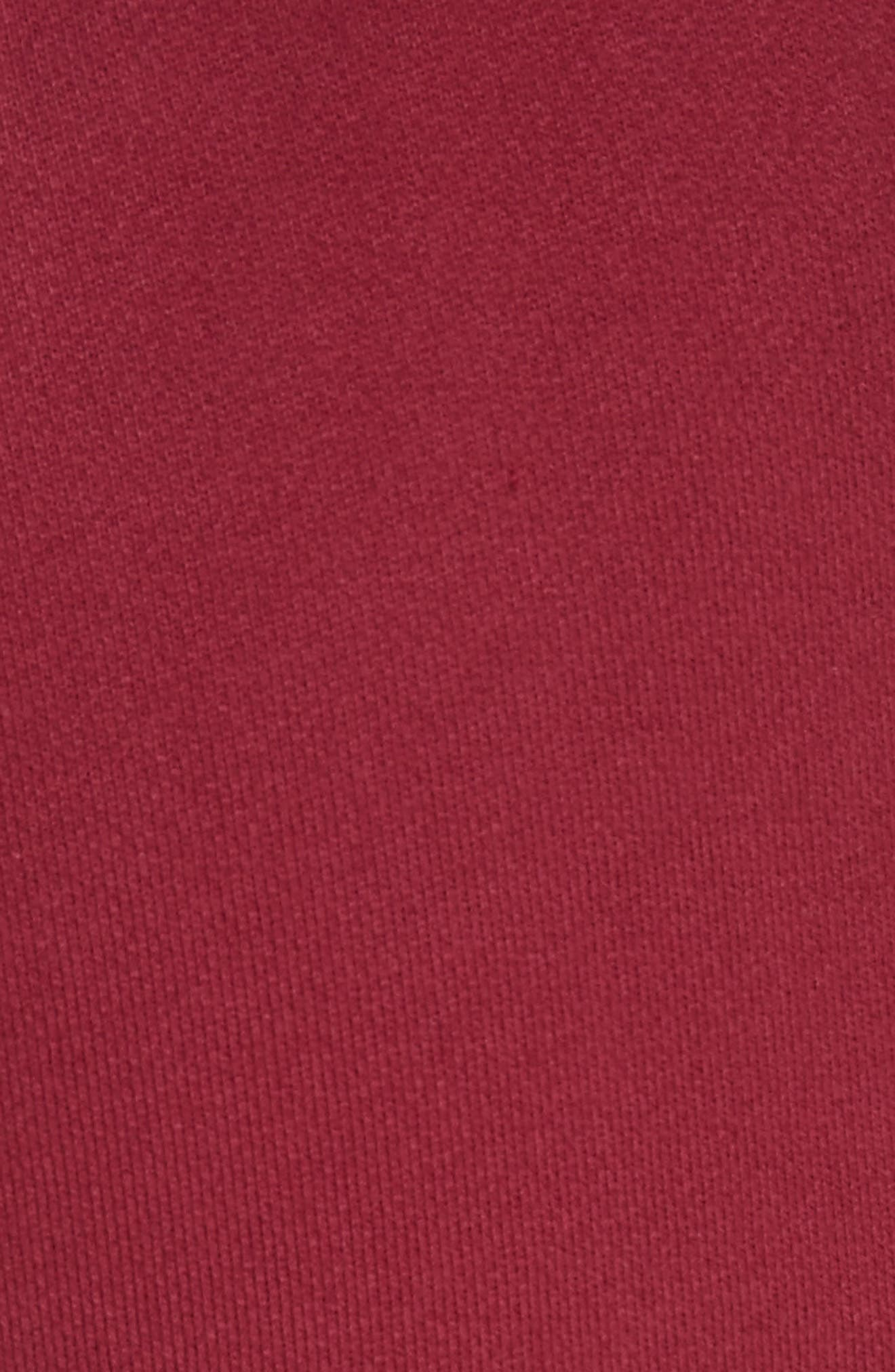 PSWL Sweatpants,                             Alternate thumbnail 5, color,                             Burgundy