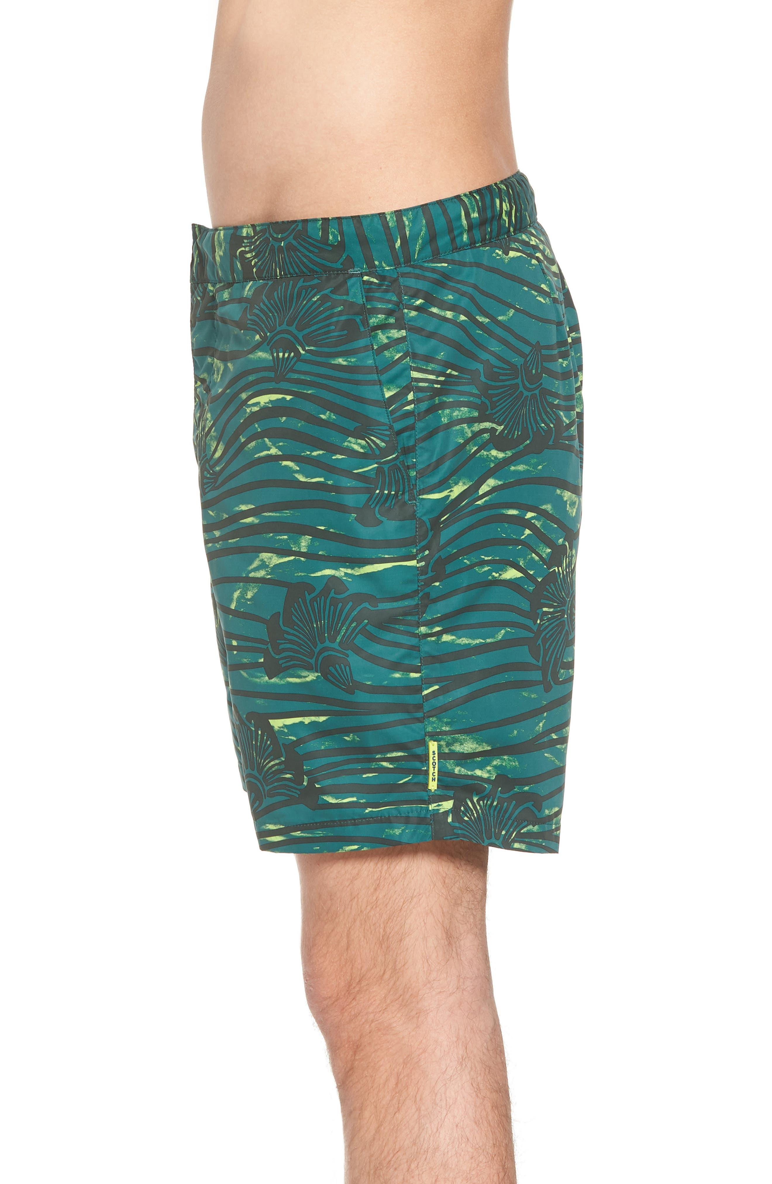 Patterned Board Shorts,                             Alternate thumbnail 3, color,                             Combo E