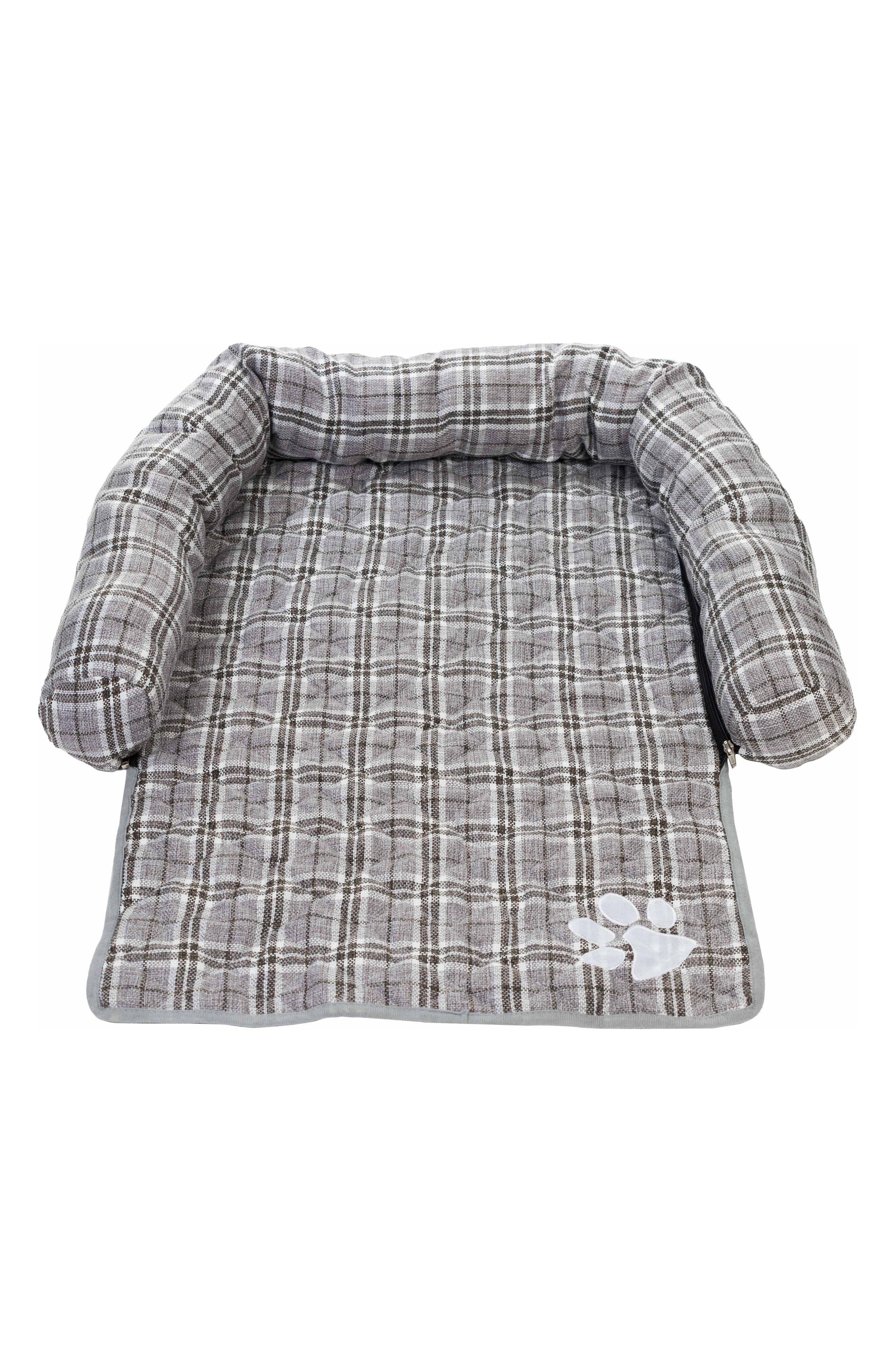 Harlee Reversible Pet Chair Cover,                             Main thumbnail 1, color,                             Grey