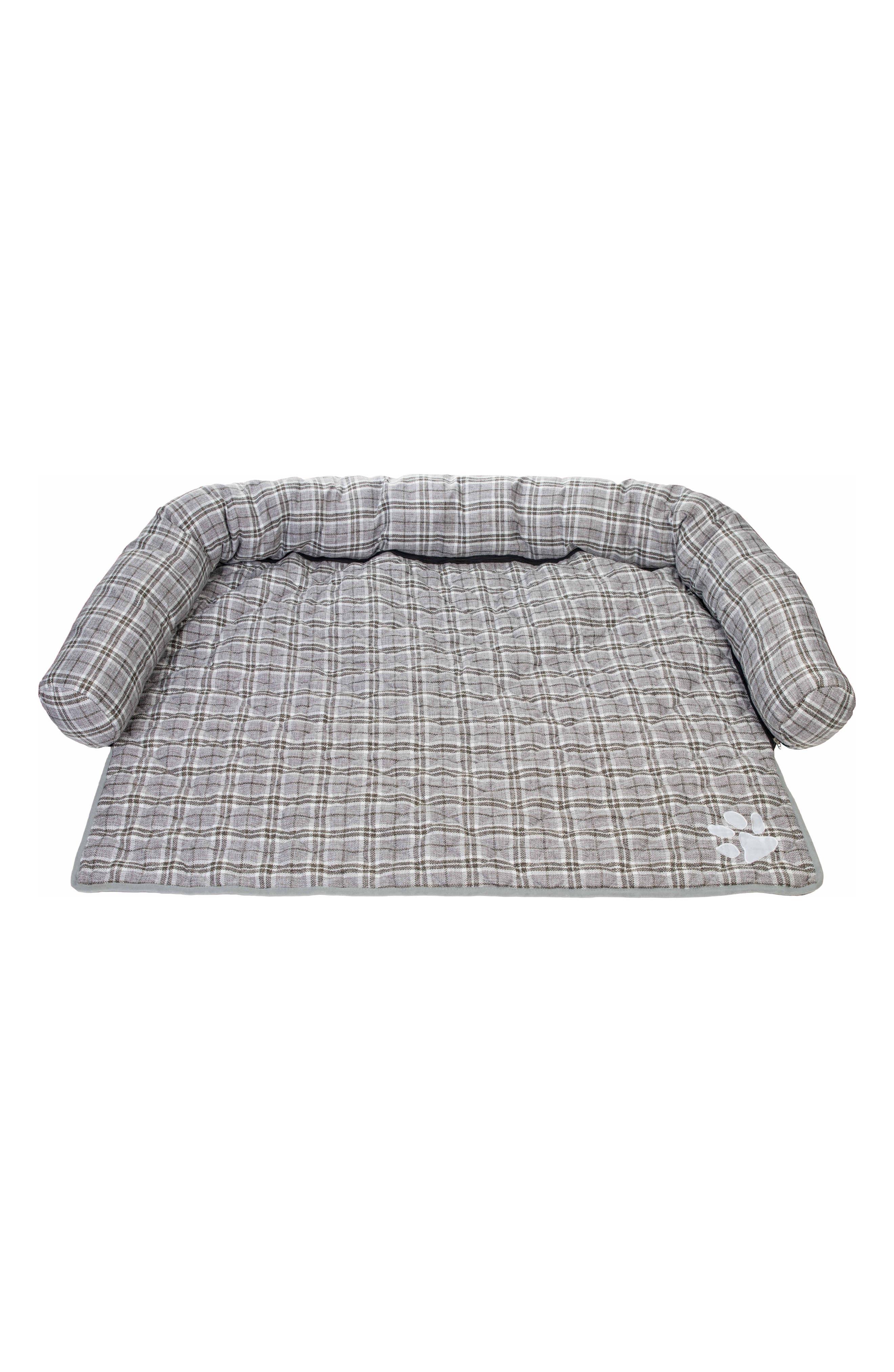 Harlee Reversible Pet Sofa Cover,                         Main,                         color, Grey