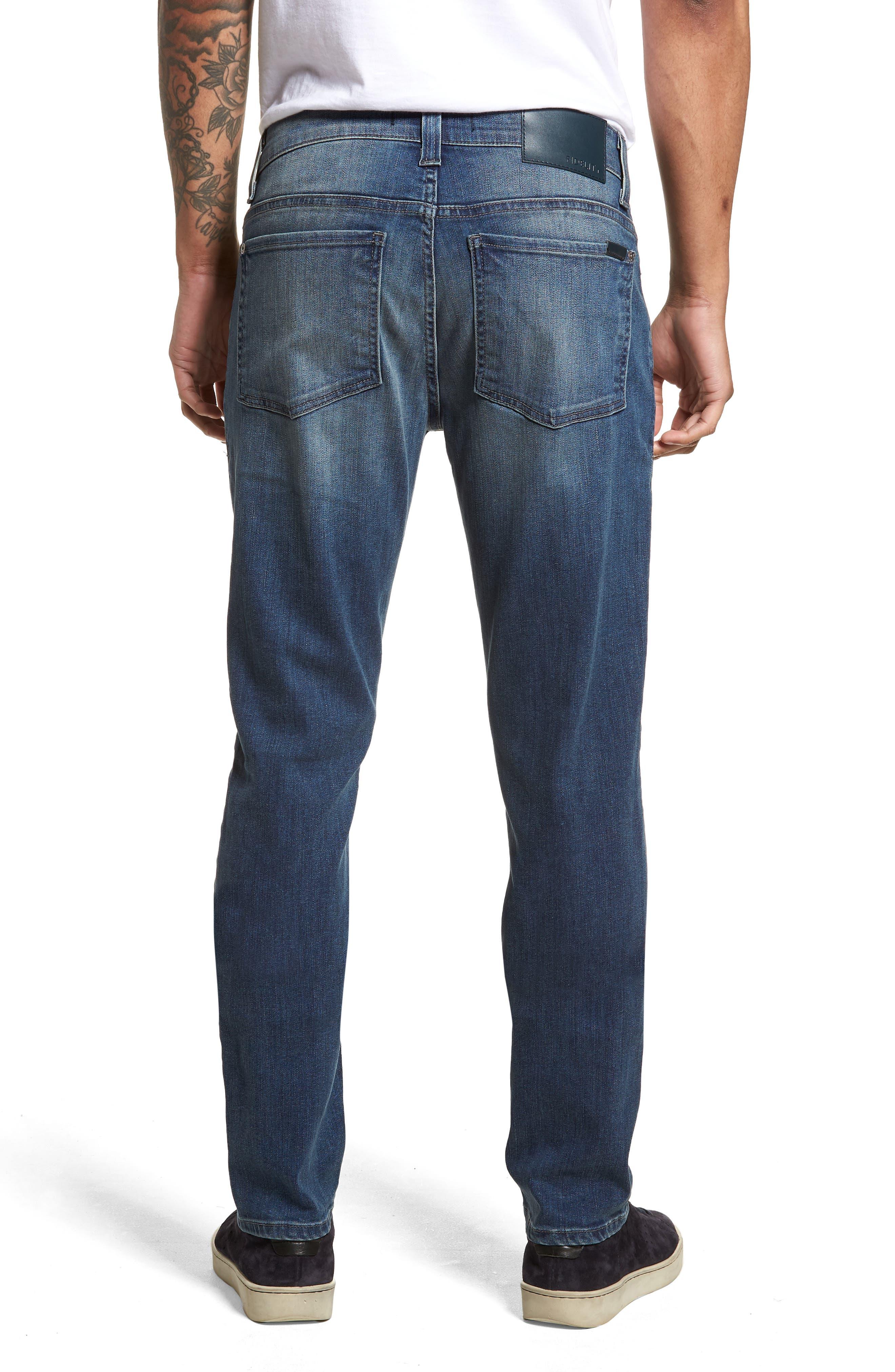 Torino Slim Fit Jeans,                             Alternate thumbnail 2, color,                             Atlas Blue