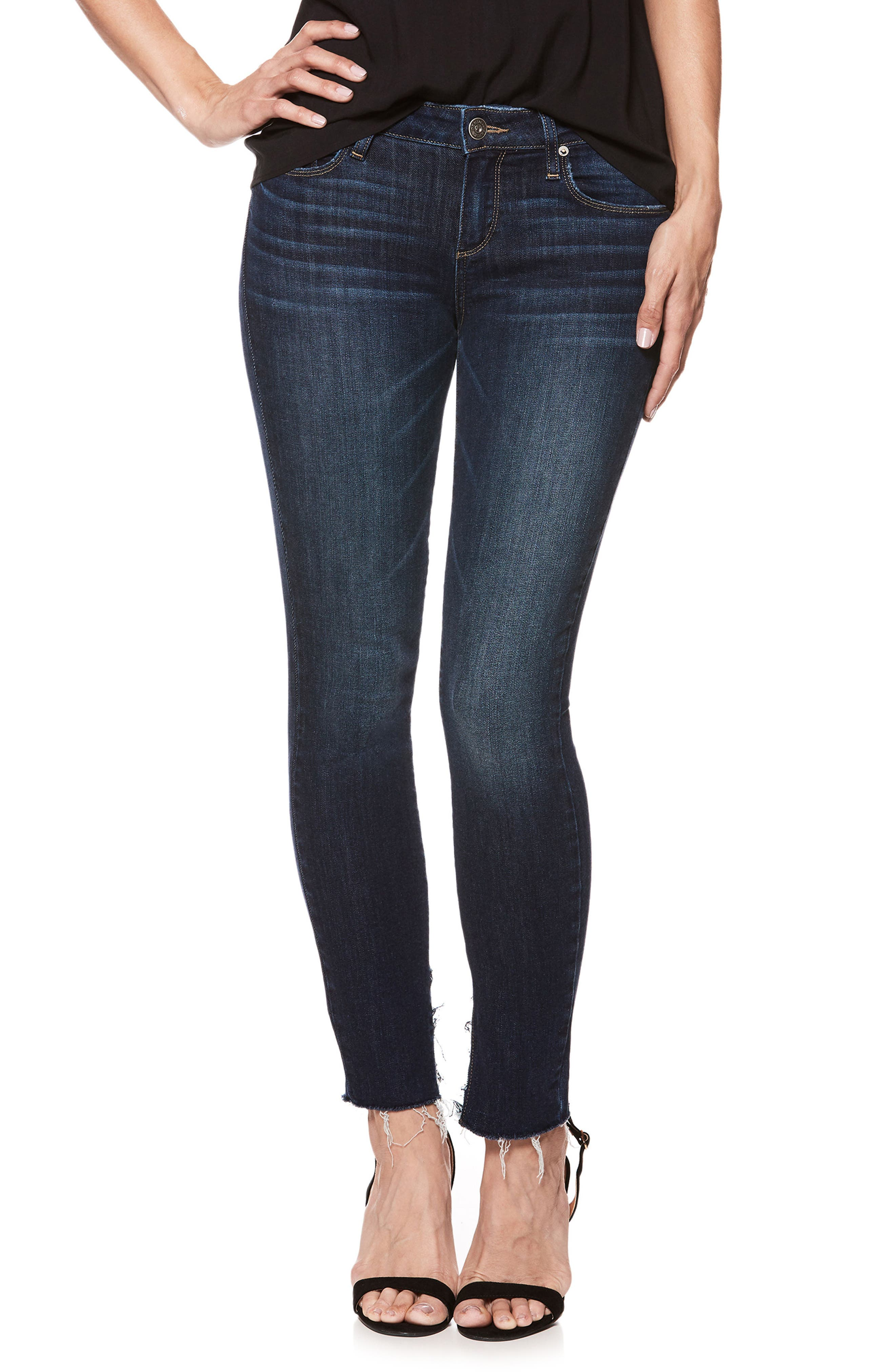 Transcend Vintage - Verdugo Ankle Ultra Skinny Jeans,                         Main,                         color, Mazzetti