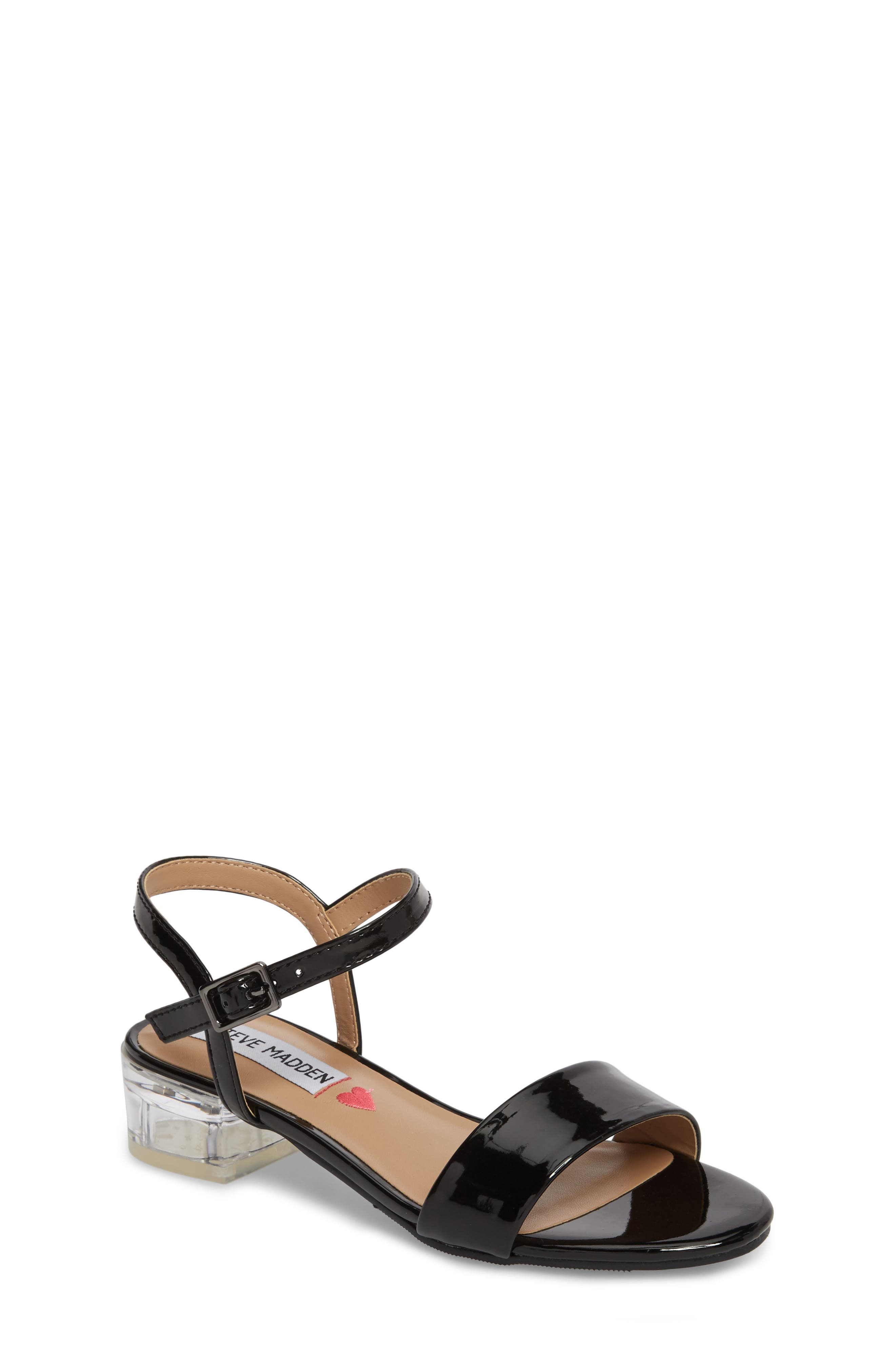 Steve Madden Jvallery Metallic Sandal (Little Kid & Big Kid)