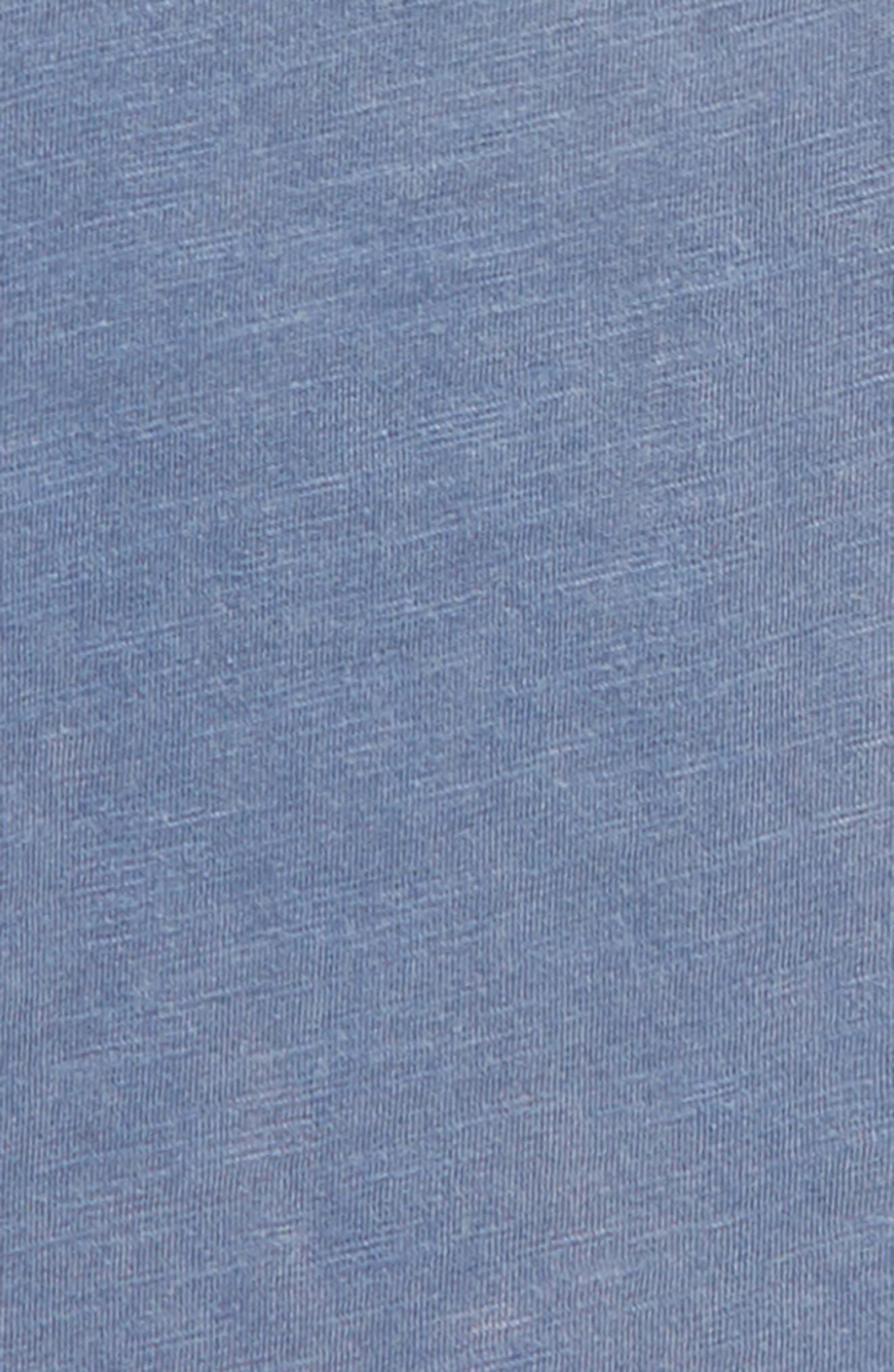Washed Slub Jersey T-Shirt,                             Alternate thumbnail 2, color,                             Indigo Fade