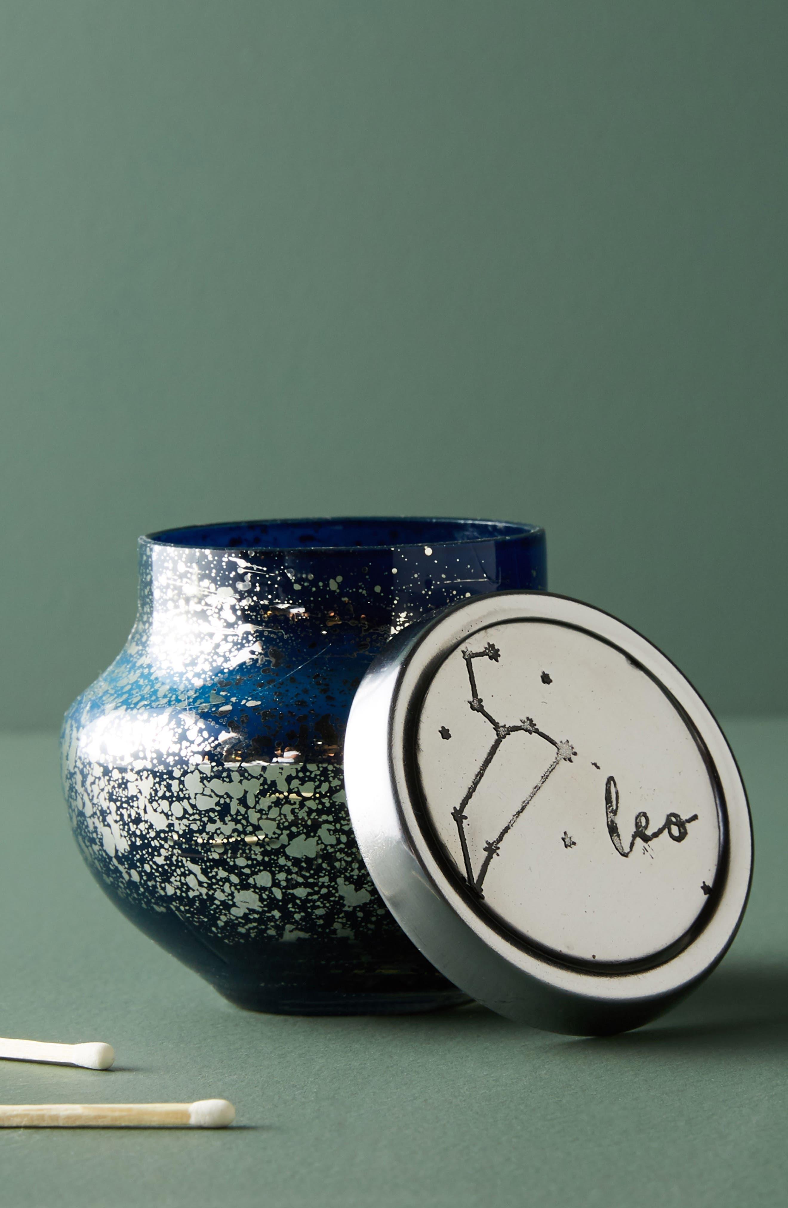 Anthropologie Capri Blue Zodiac Mini Jar Candle