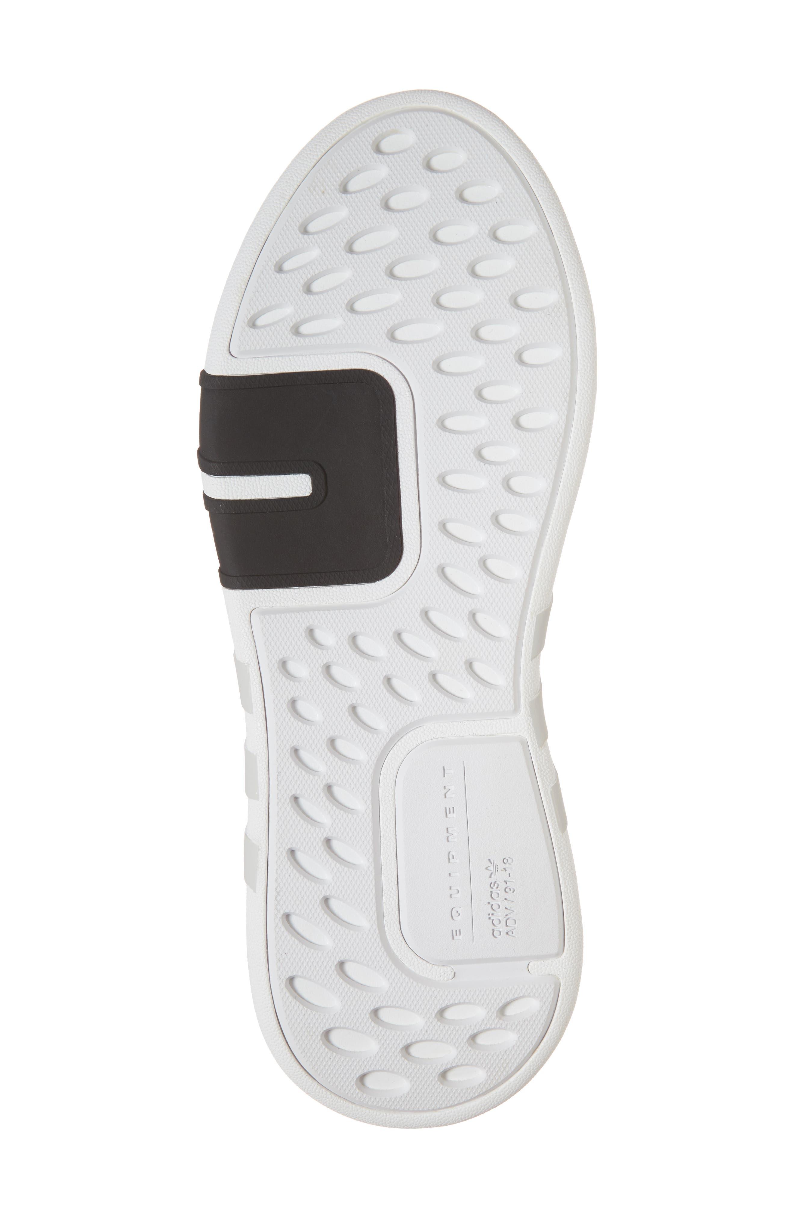 EQT Basketball ADV Sneaker,                             Alternate thumbnail 6, color,                             Core Black/ Sub Green