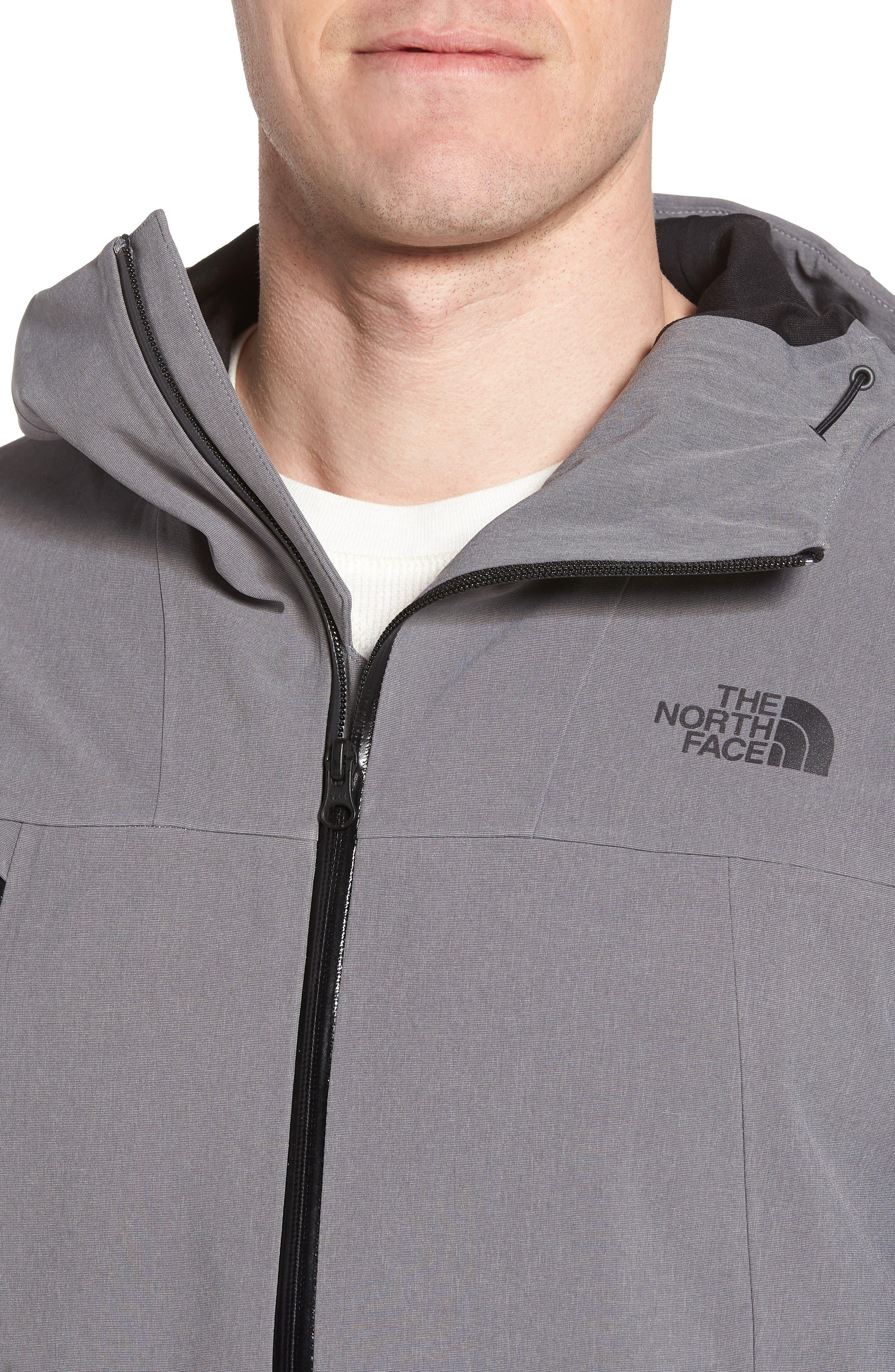 Apex Flex Gore-Tex<sup>®</sup> Waterproof Jacket,                             Alternate thumbnail 4, color,                             Medium Grey Heather