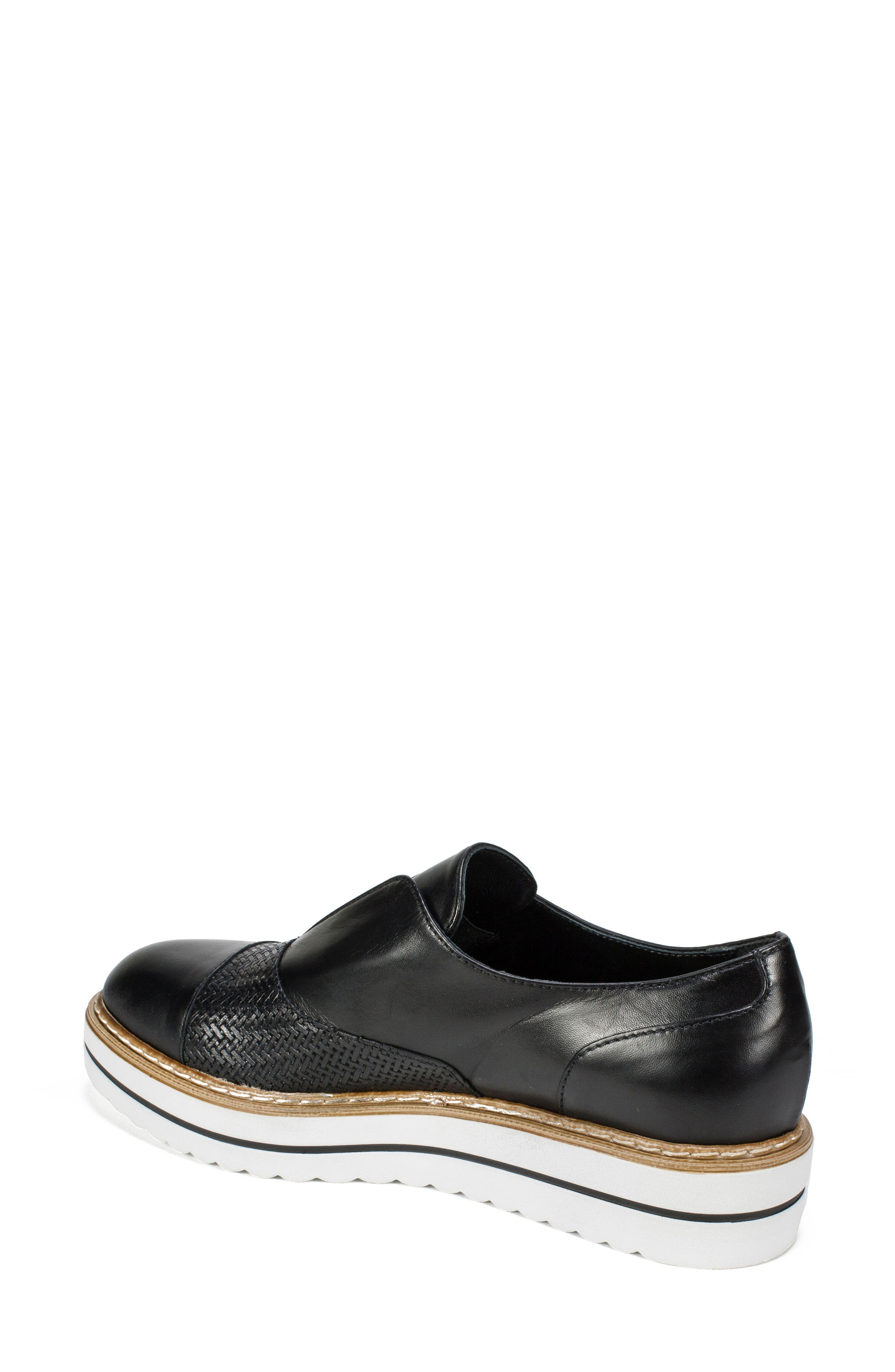 Bliss Loafer,                             Alternate thumbnail 2, color,                             Black Leather