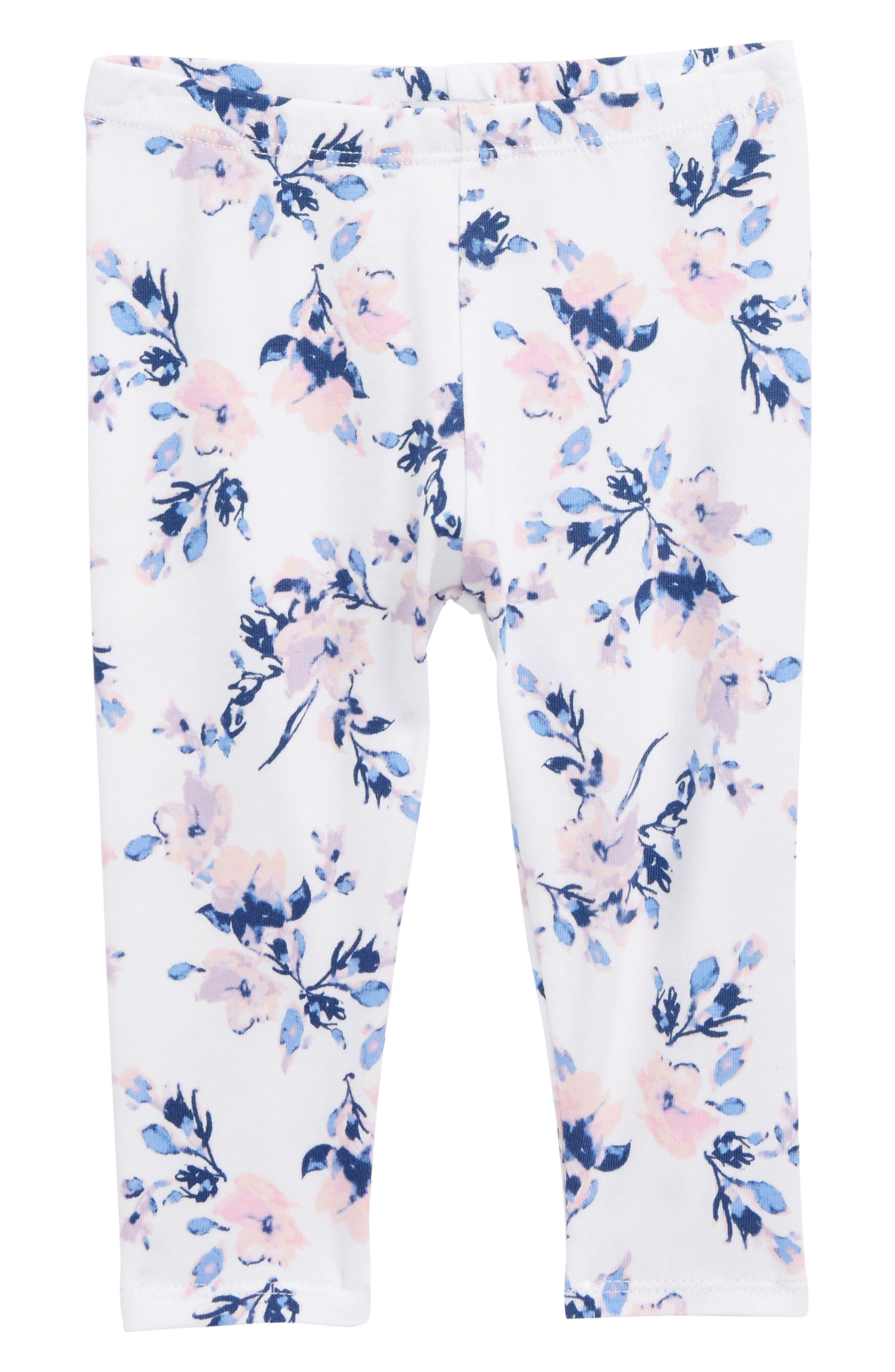 Splendid Floral Print Leggings (Baby Girls)