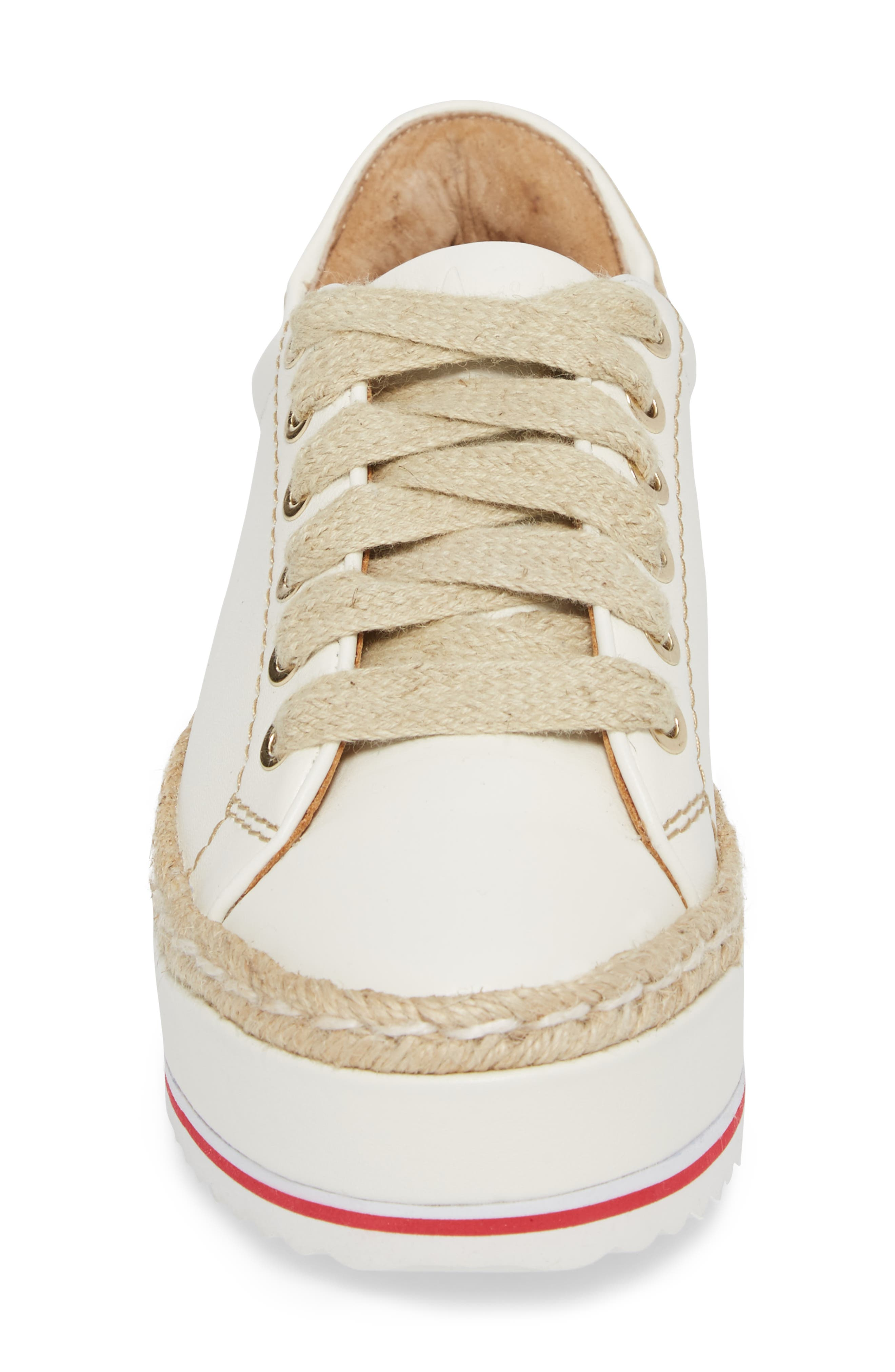 Alternate Image 4  - Joie Dabnis Espadrille Platform Sneaker (Women)