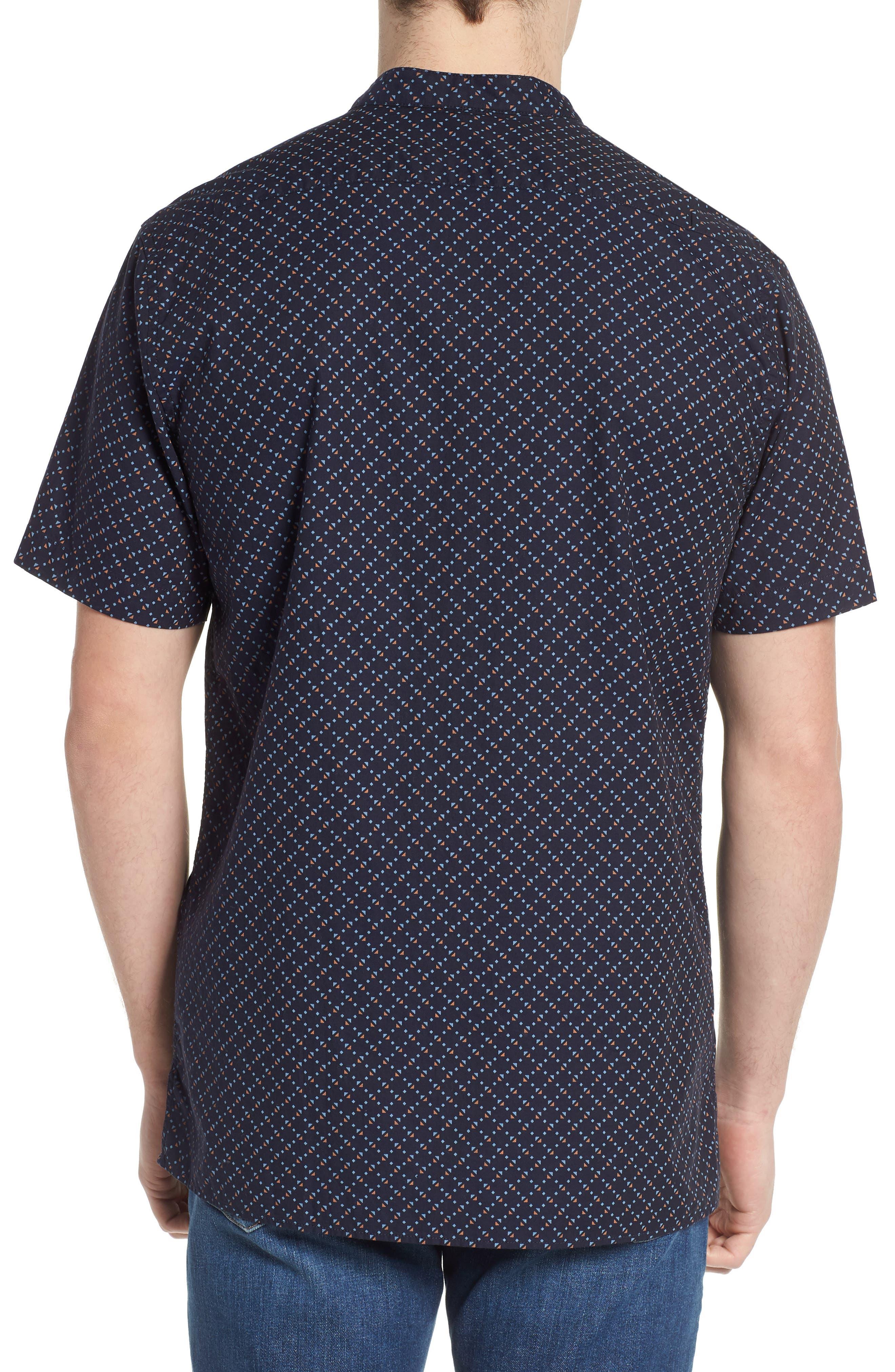Woven Oxford Shirt,                             Alternate thumbnail 3, color,                             Combo F