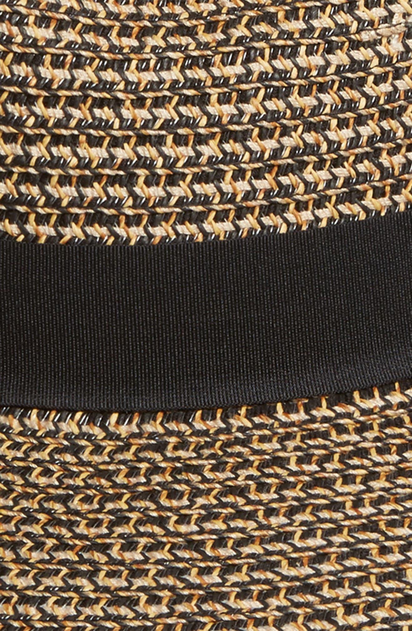 Alternate Image 2  - Sole Society Woven Straw Sun Hat