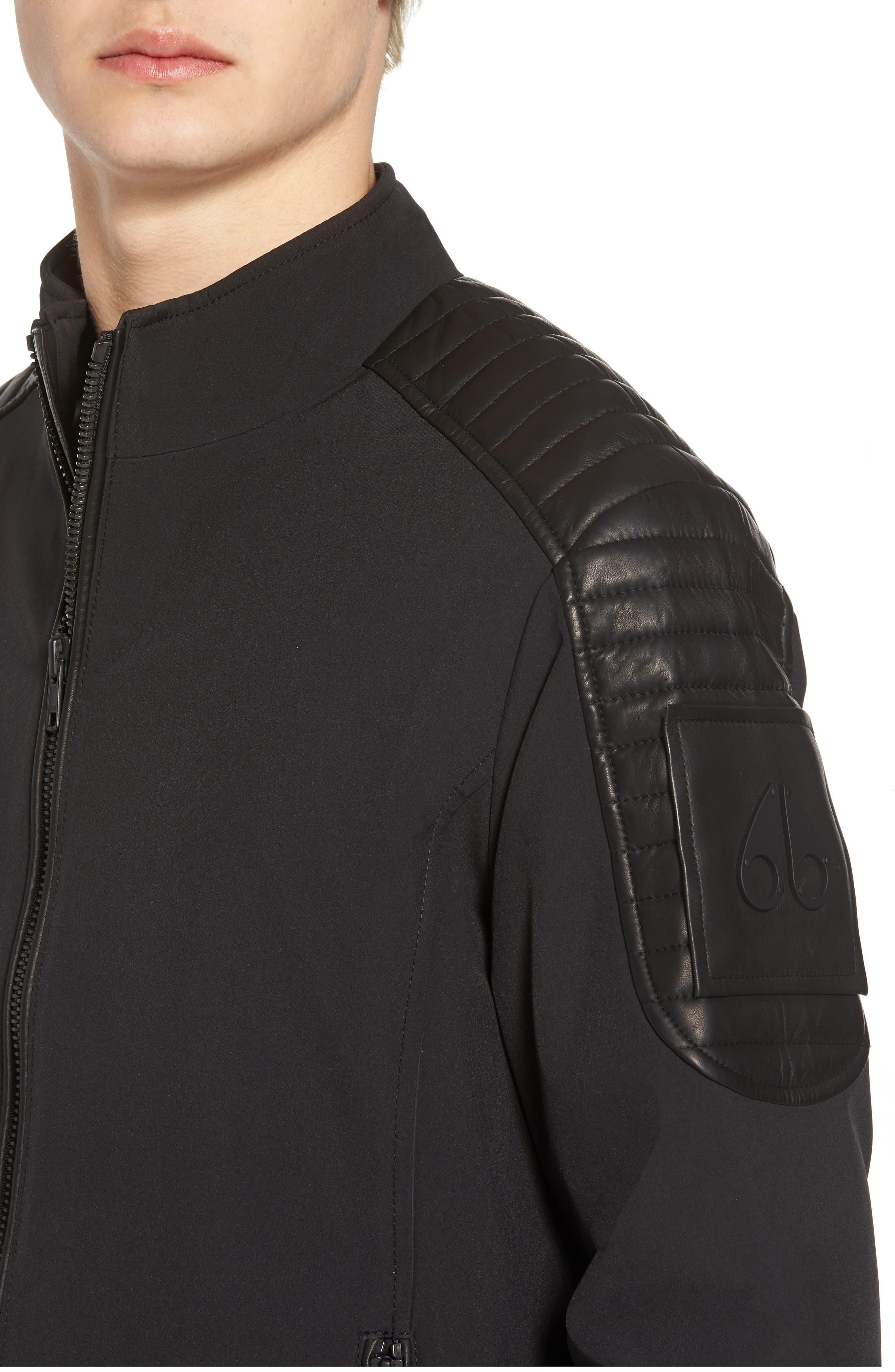 Grindstone Water Repellent Jacket,                             Alternate thumbnail 4, color,                             Black