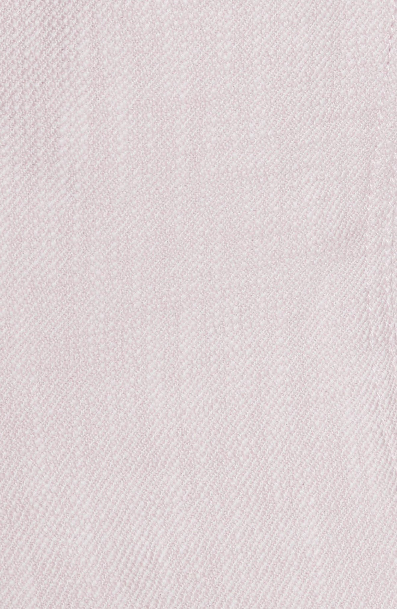 Slub Woven Jacket,                             Alternate thumbnail 6, color,                             Orchid