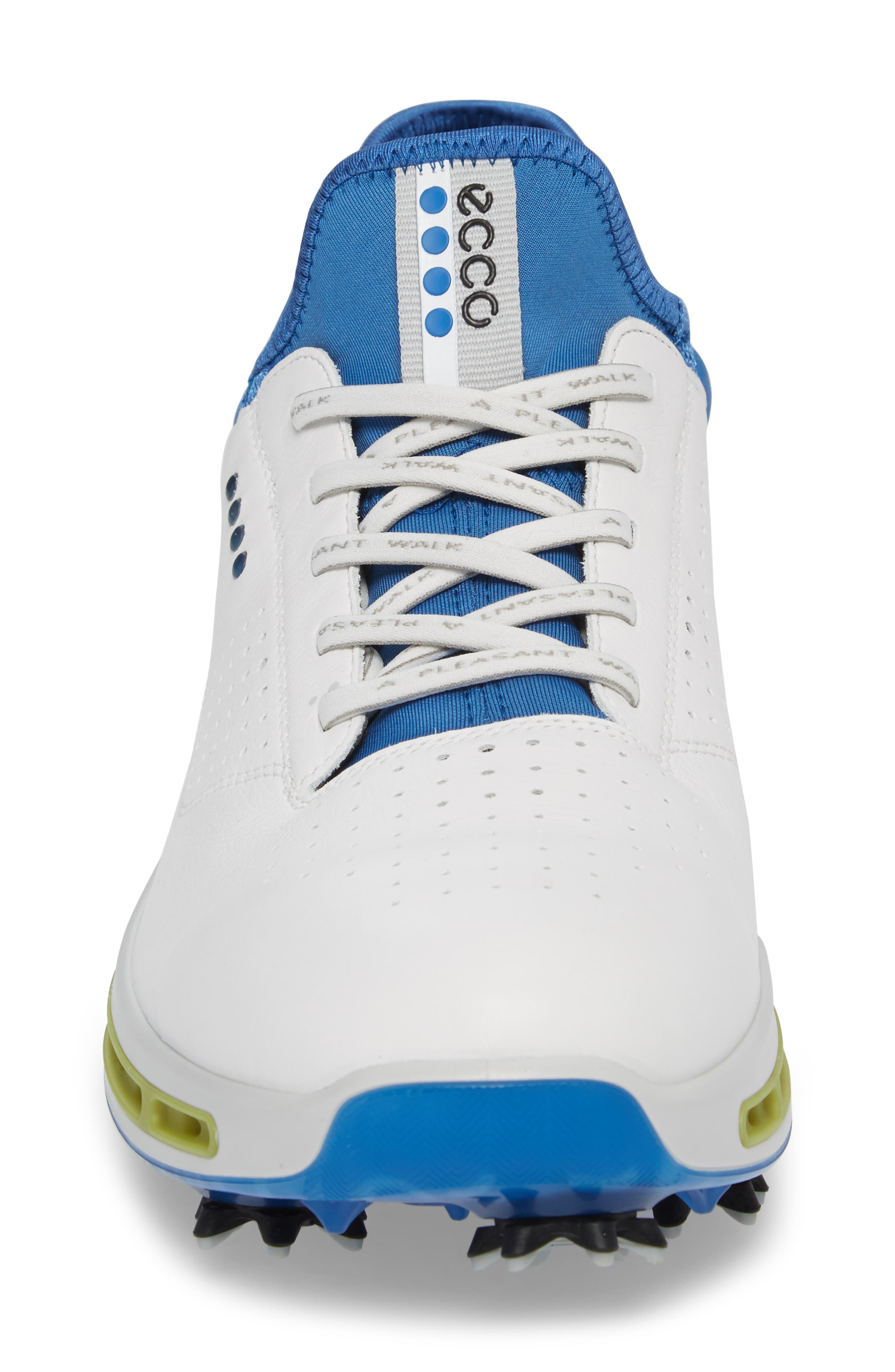 Cool 18 Gore-Tex Golf Shoe,                             Alternate thumbnail 4, color,                             White Leather