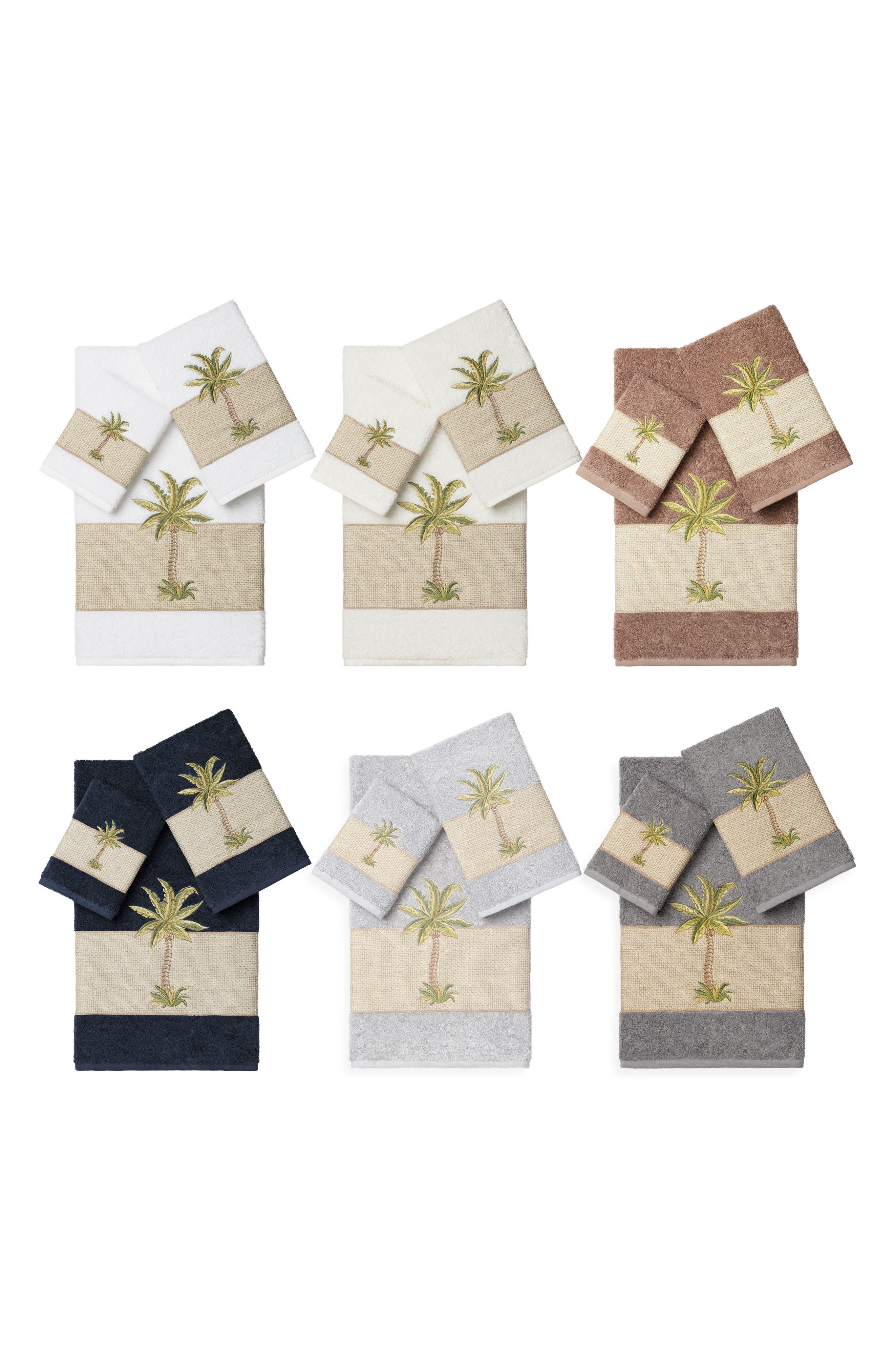 Colton 3-Piece Turkish Cotton Towel Set,                             Alternate thumbnail 3, color,                             Cream
