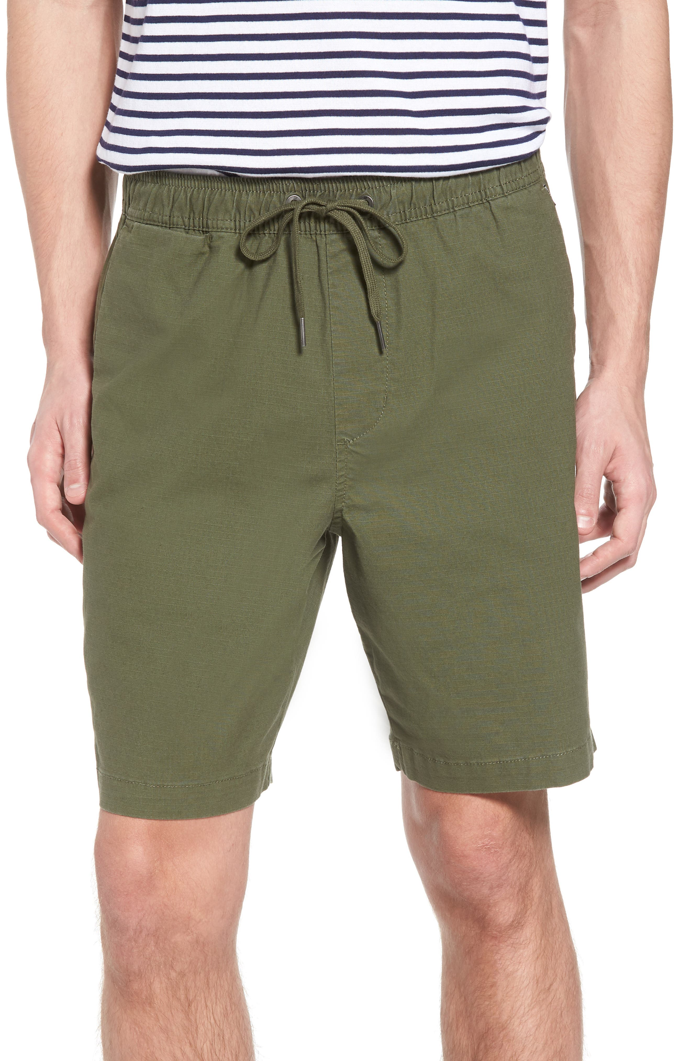 Larry Layback Shorts,                         Main,                         color, Dark Olive