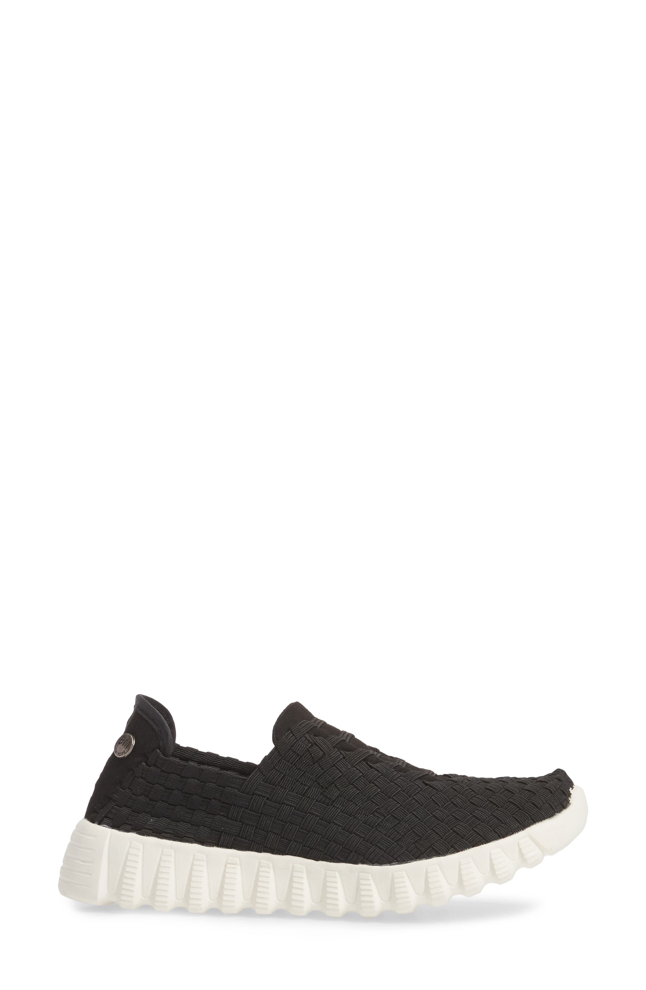 Vivaldi Slip-On Sneaker,                             Alternate thumbnail 3, color,                             Black