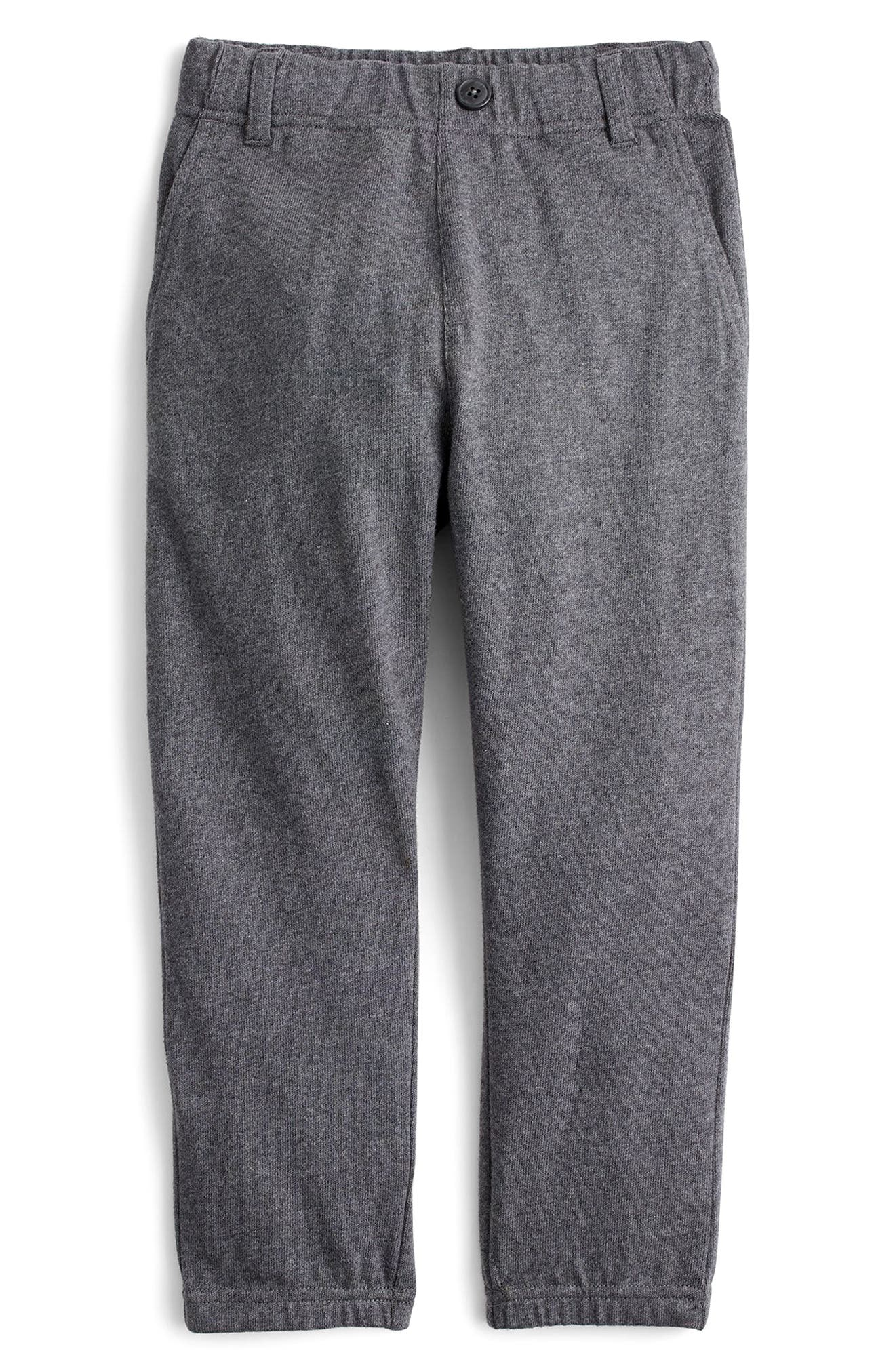 Trouser Sweatpants,                         Main,                         color, Heather Charcoal