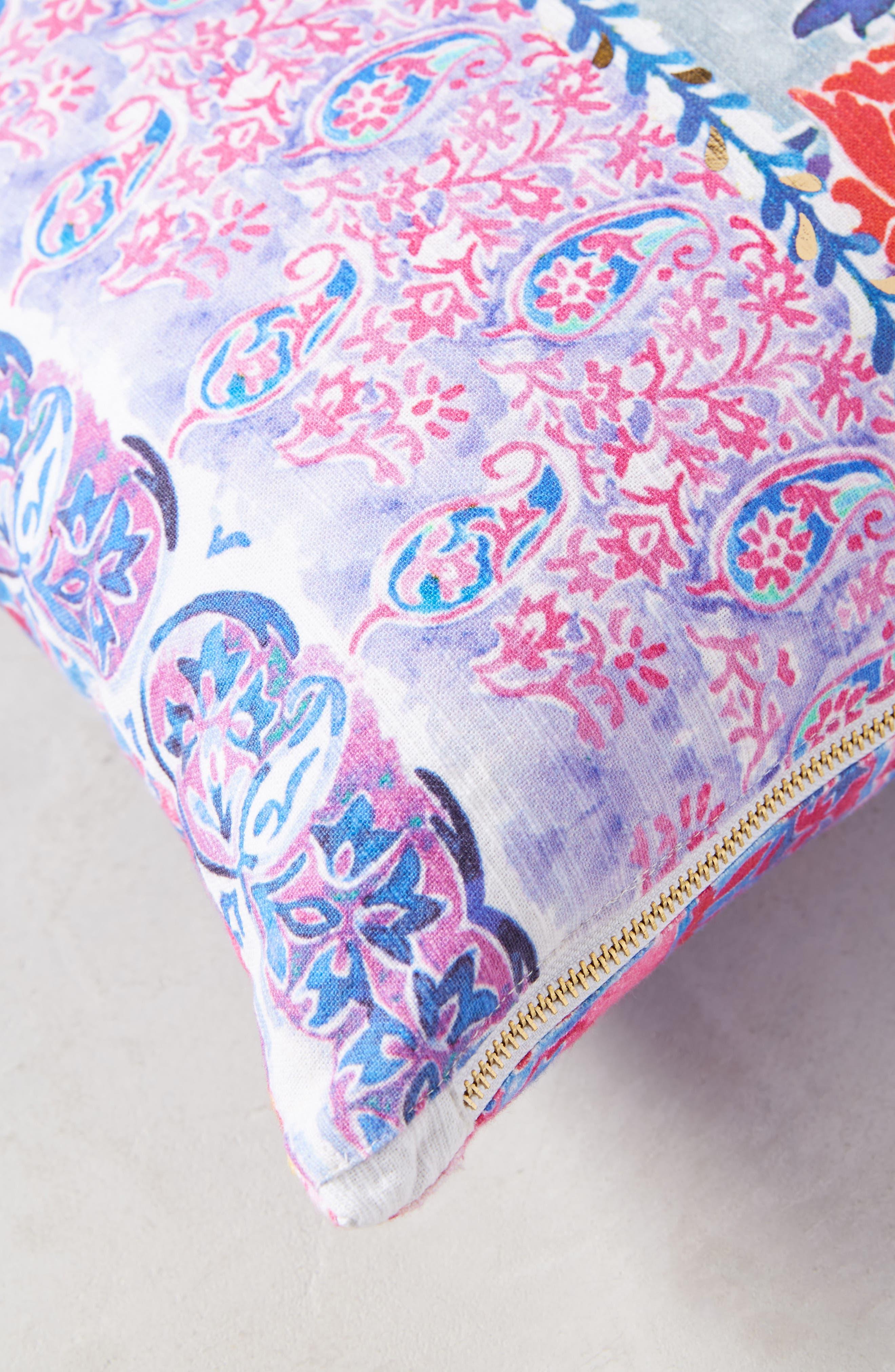 Tali Accent Pillow,                             Alternate thumbnail 3, color,                             Blue