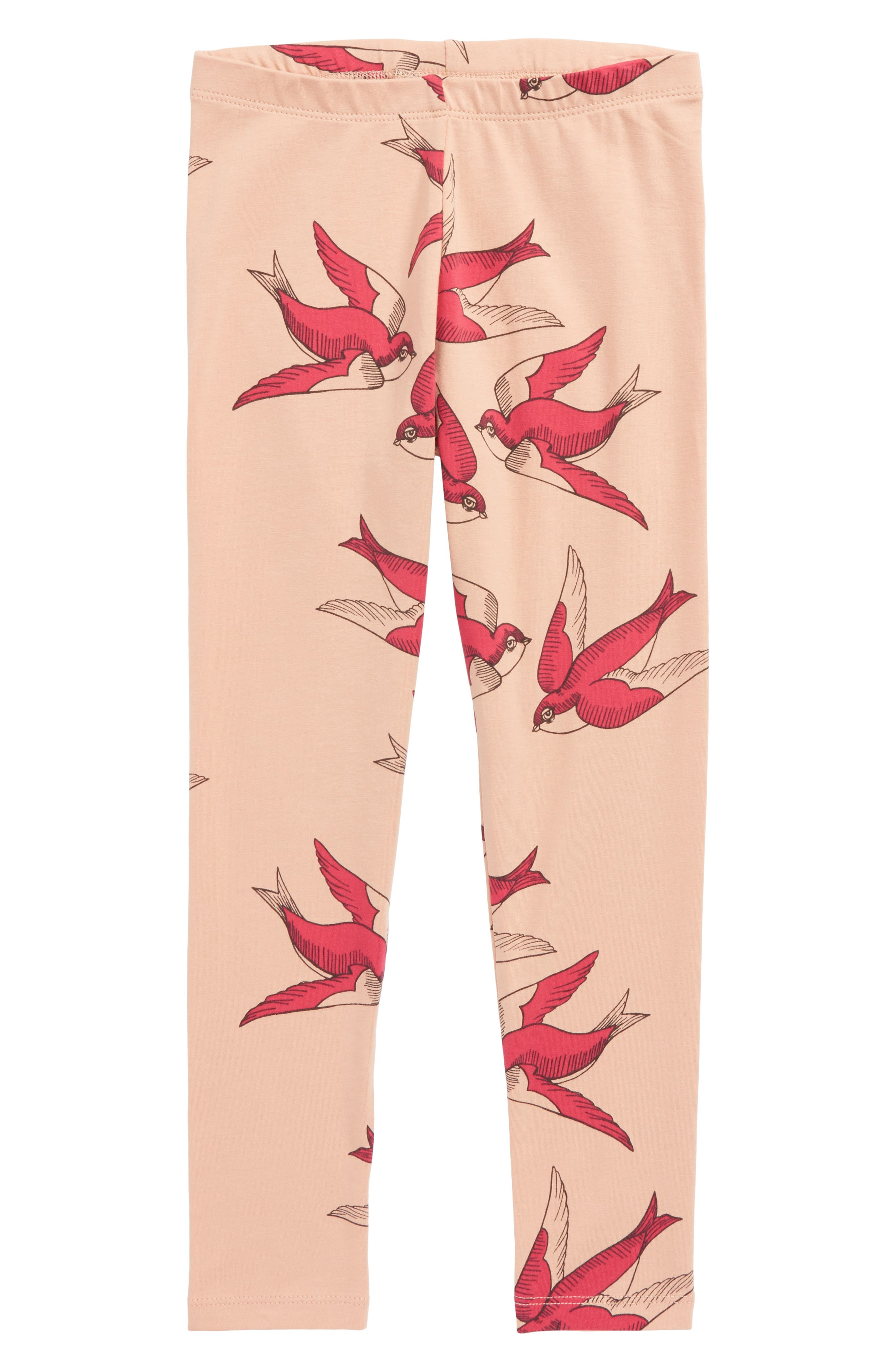 Mini Rodini Swallows Leggings (Toddler Girls & Little Girls)