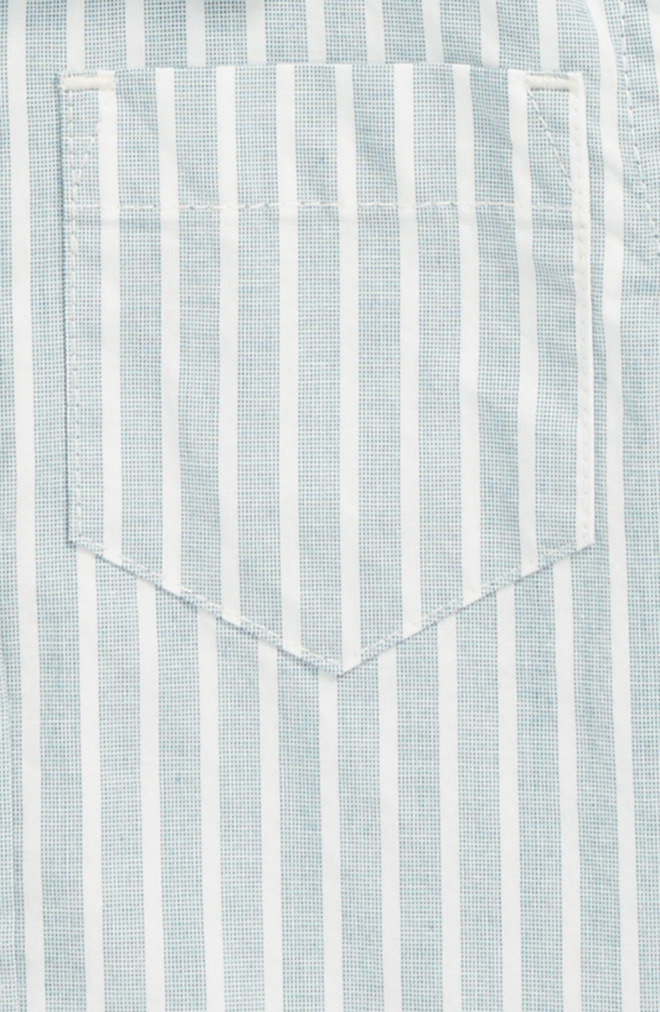 Stripe Woven Shirt,                             Alternate thumbnail 2, color,                             Striped