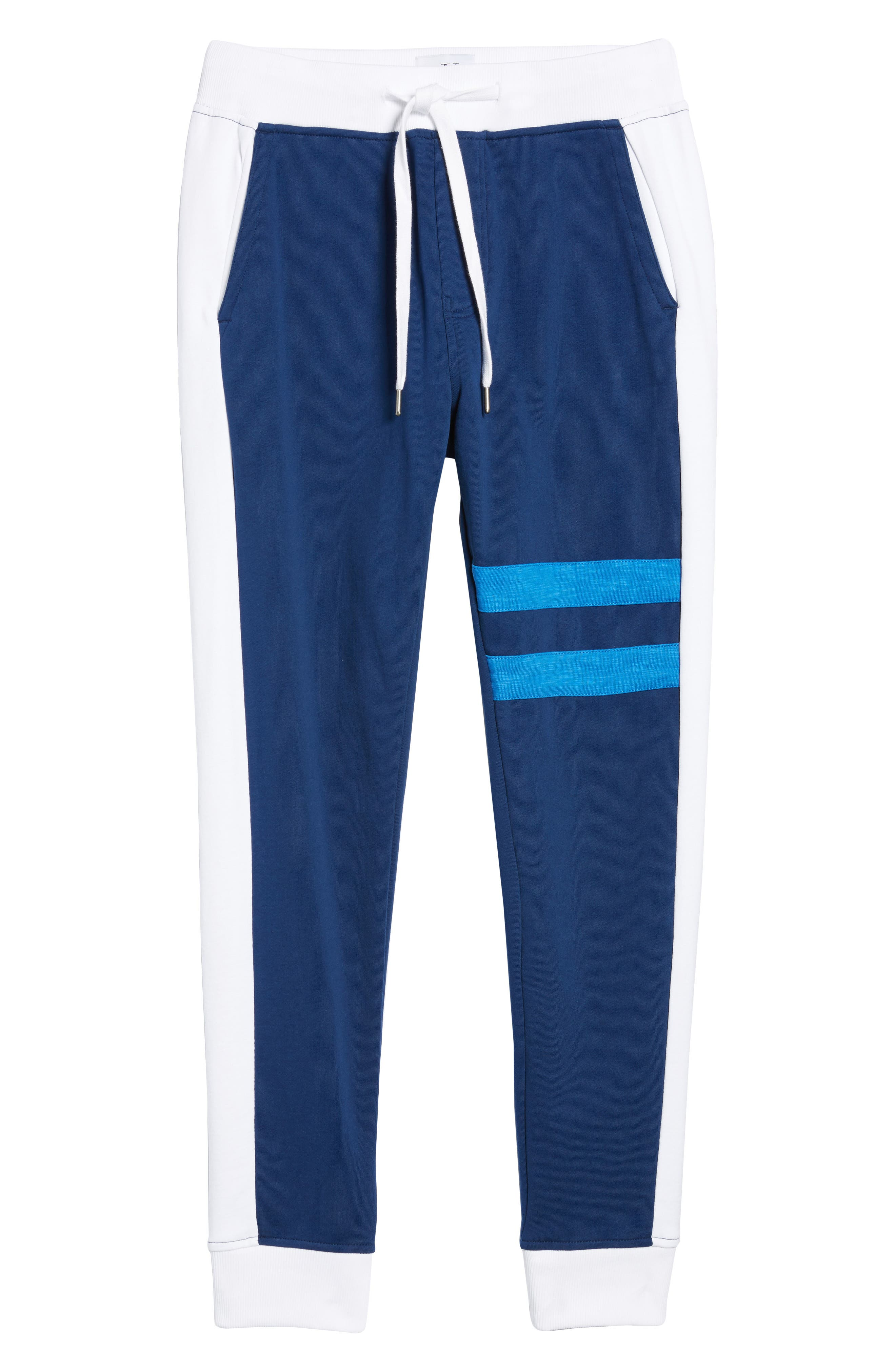 Athletic Collage Sweatpants,                             Alternate thumbnail 6, color,                             Night Rider