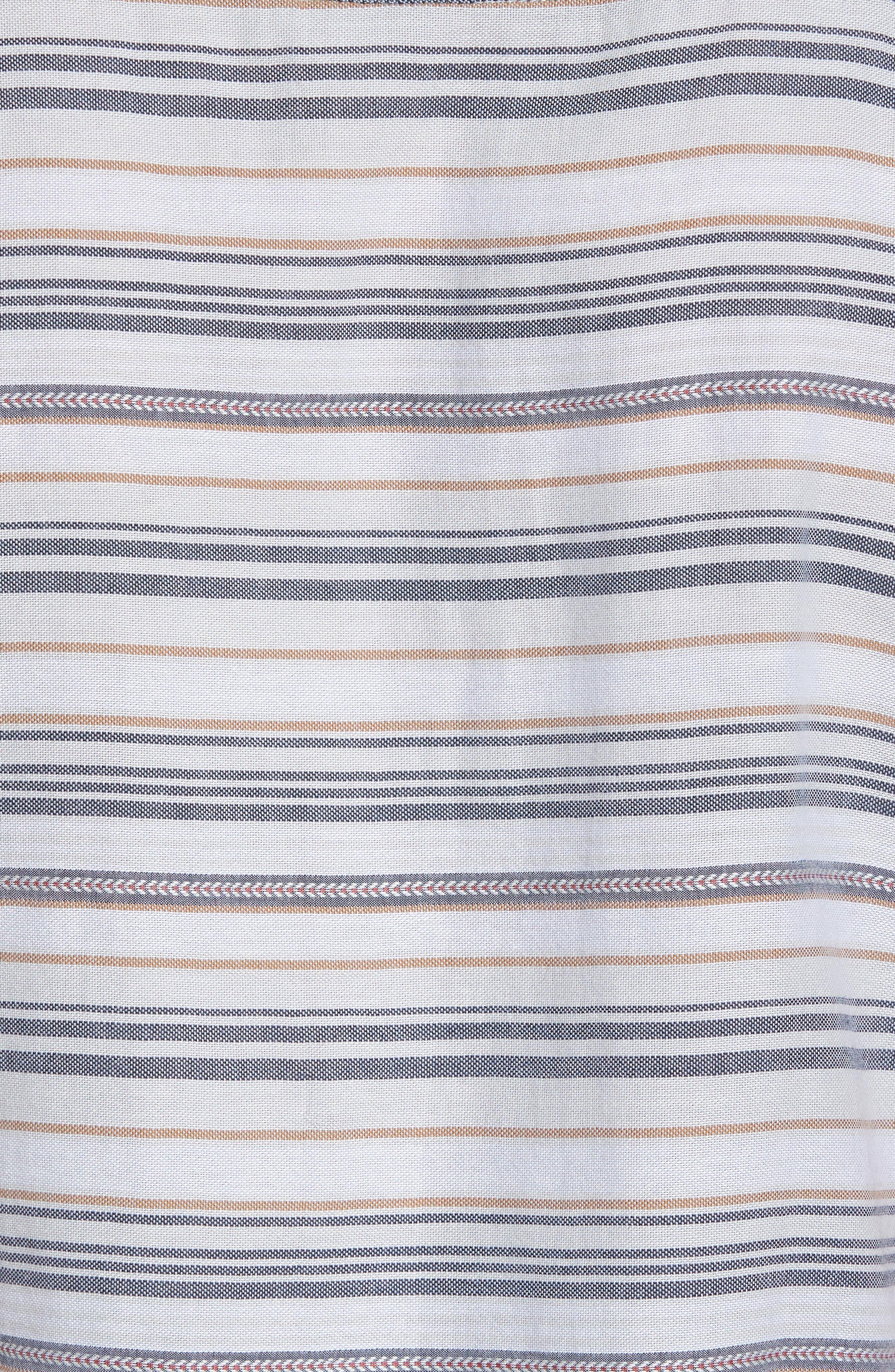 Currington Short Sleeve Shirt,                             Alternate thumbnail 5, color,                             Light Blue