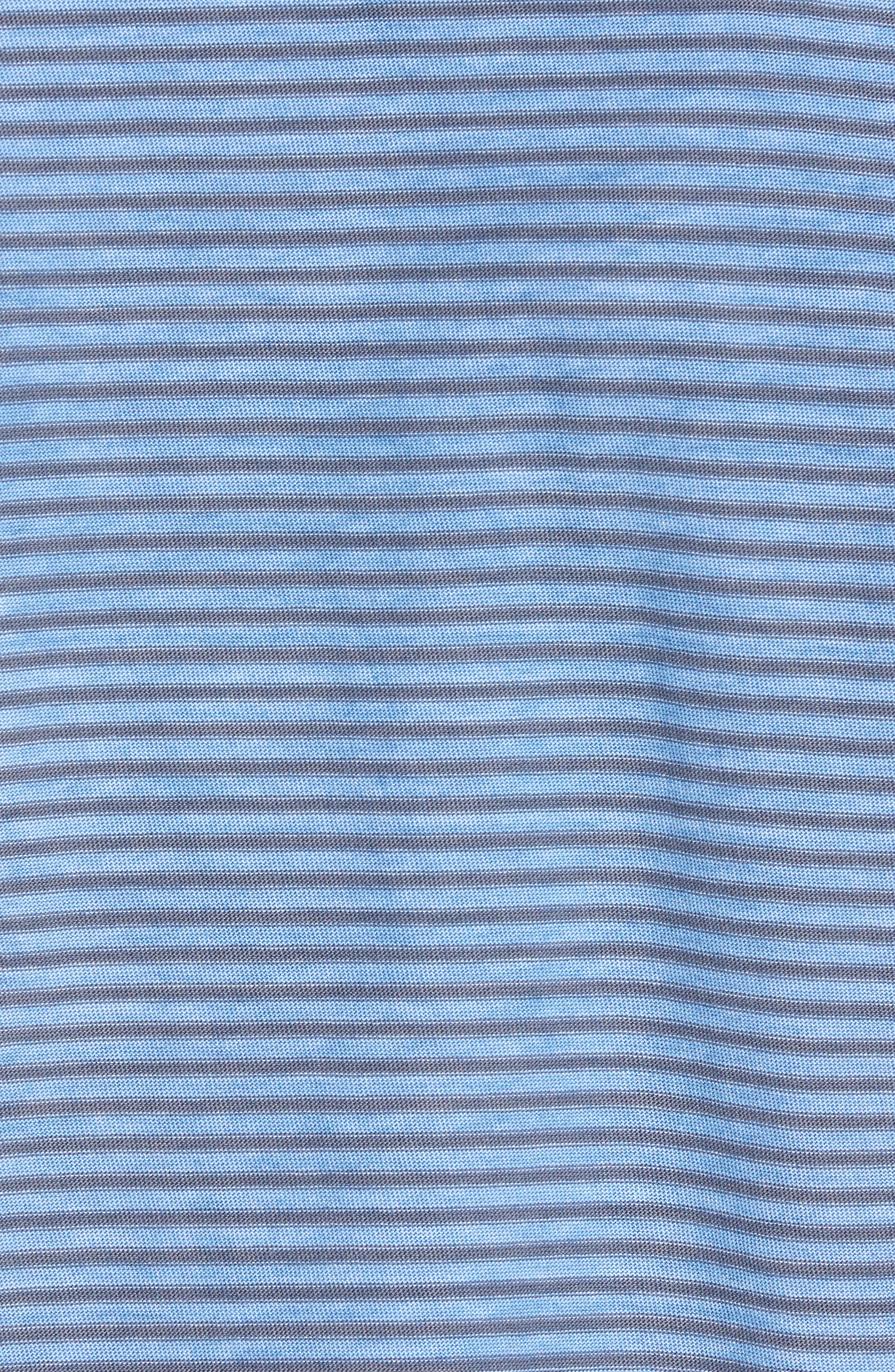 Stringer T-Shirt,                             Alternate thumbnail 5, color,                             Powder Blue