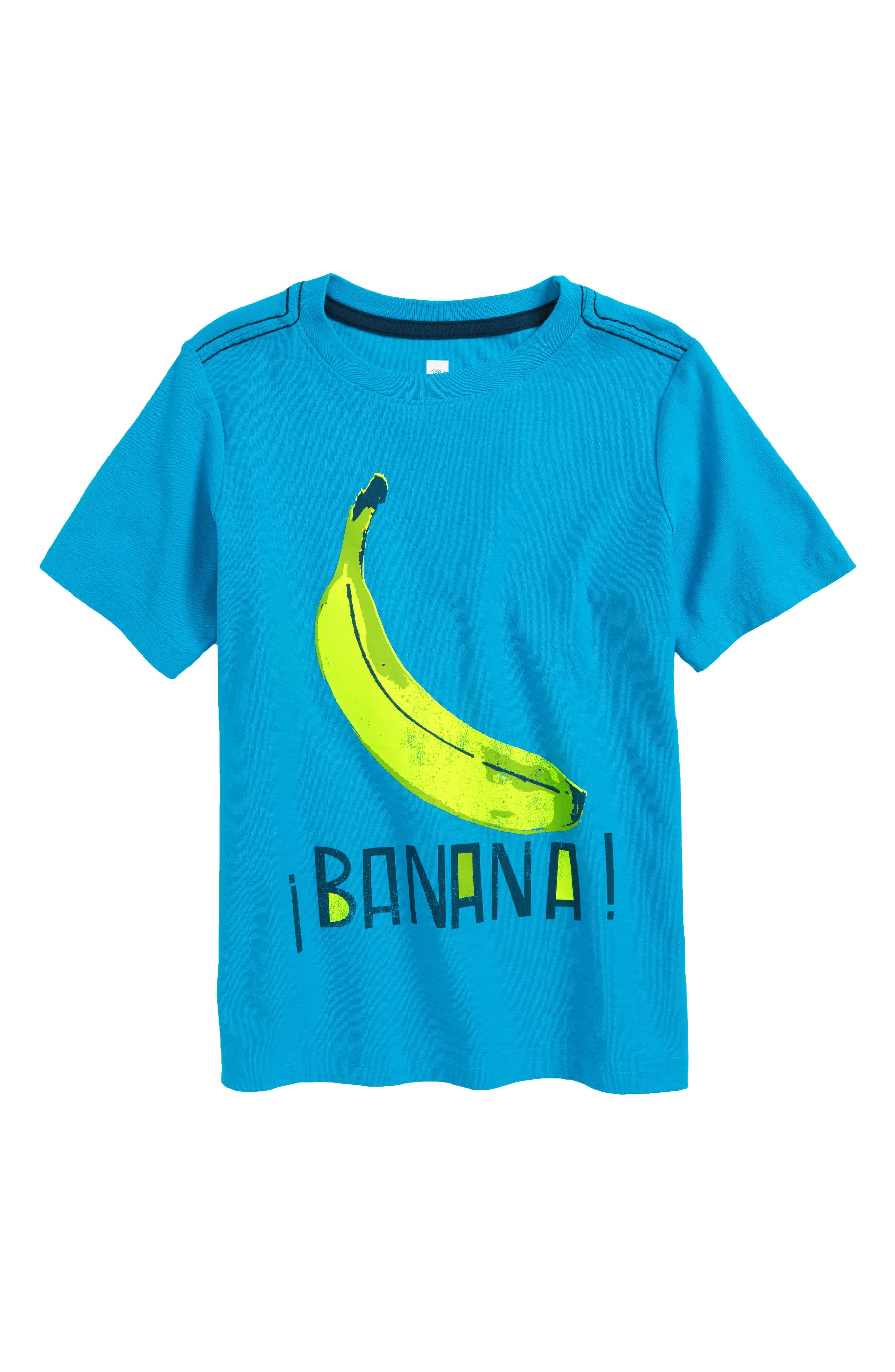 Tea Collection Banana Graphic T-Shirt (Toddler Boys & Little Boys)