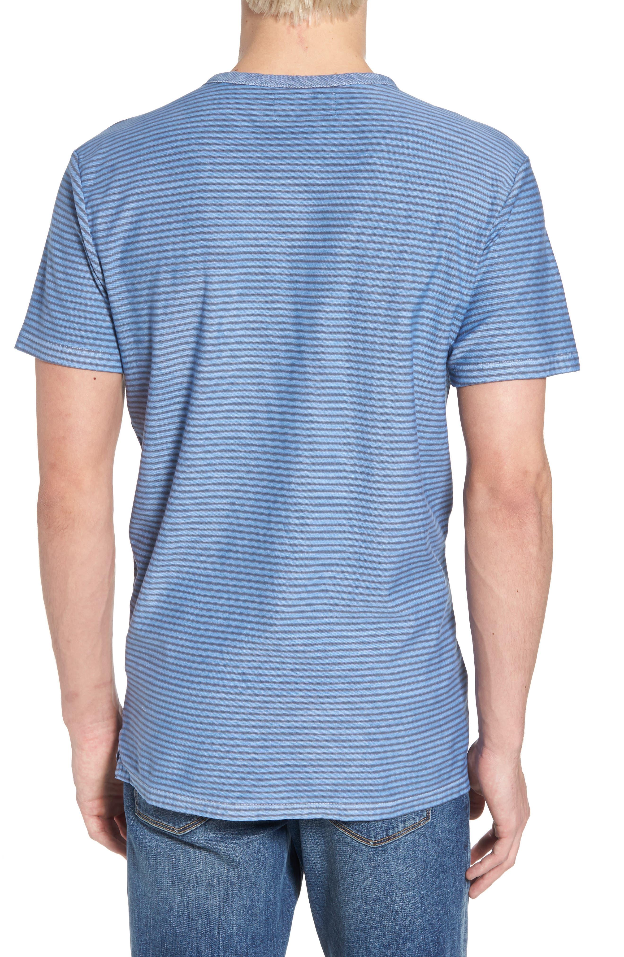Stringer T-Shirt,                             Alternate thumbnail 2, color,                             Powder Blue