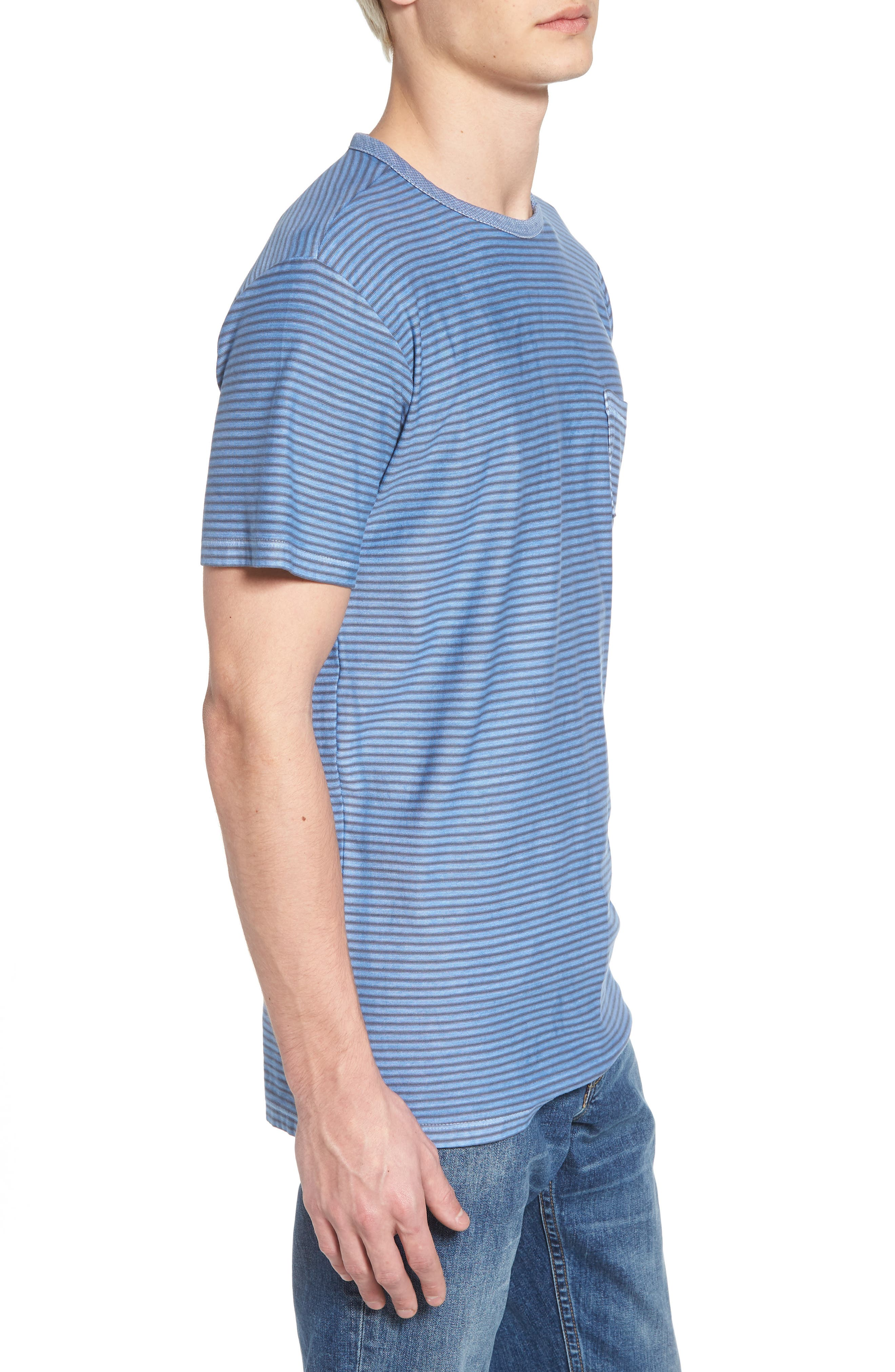 Stringer T-Shirt,                             Alternate thumbnail 3, color,                             Powder Blue