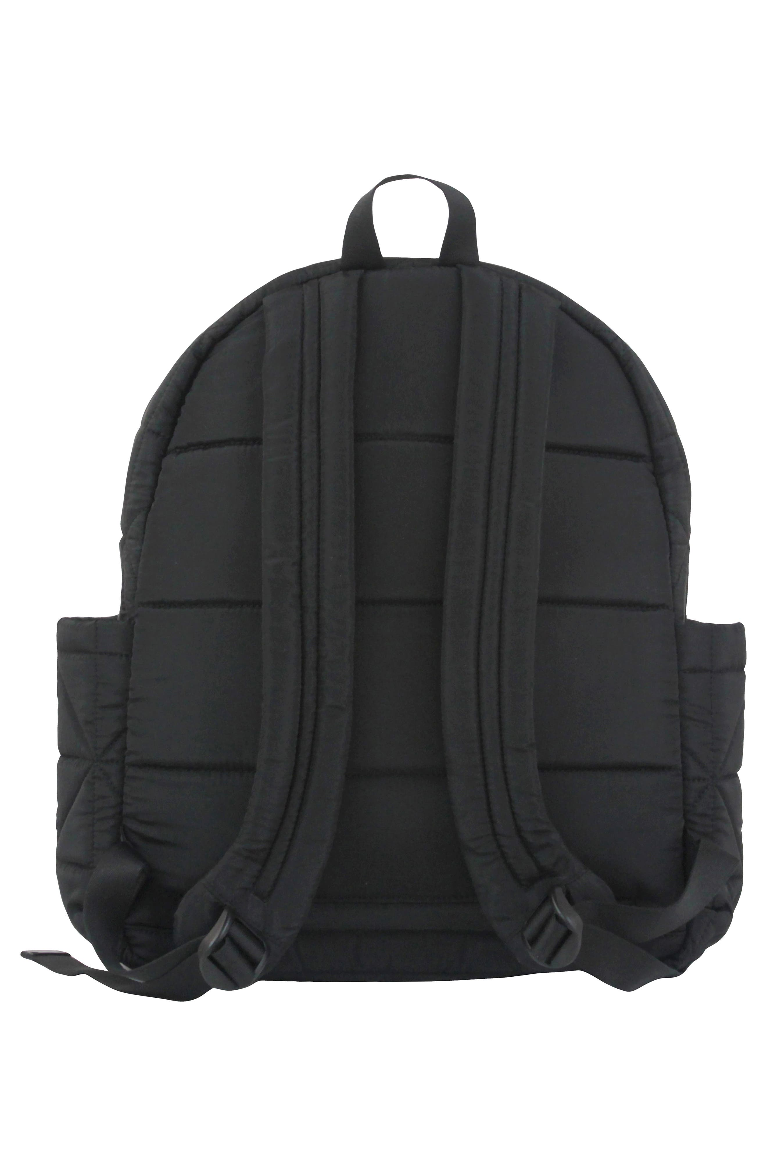 Alternate Image 3  - TWELVElittle Quilted Water Resistant Nylon Diaper Backpack