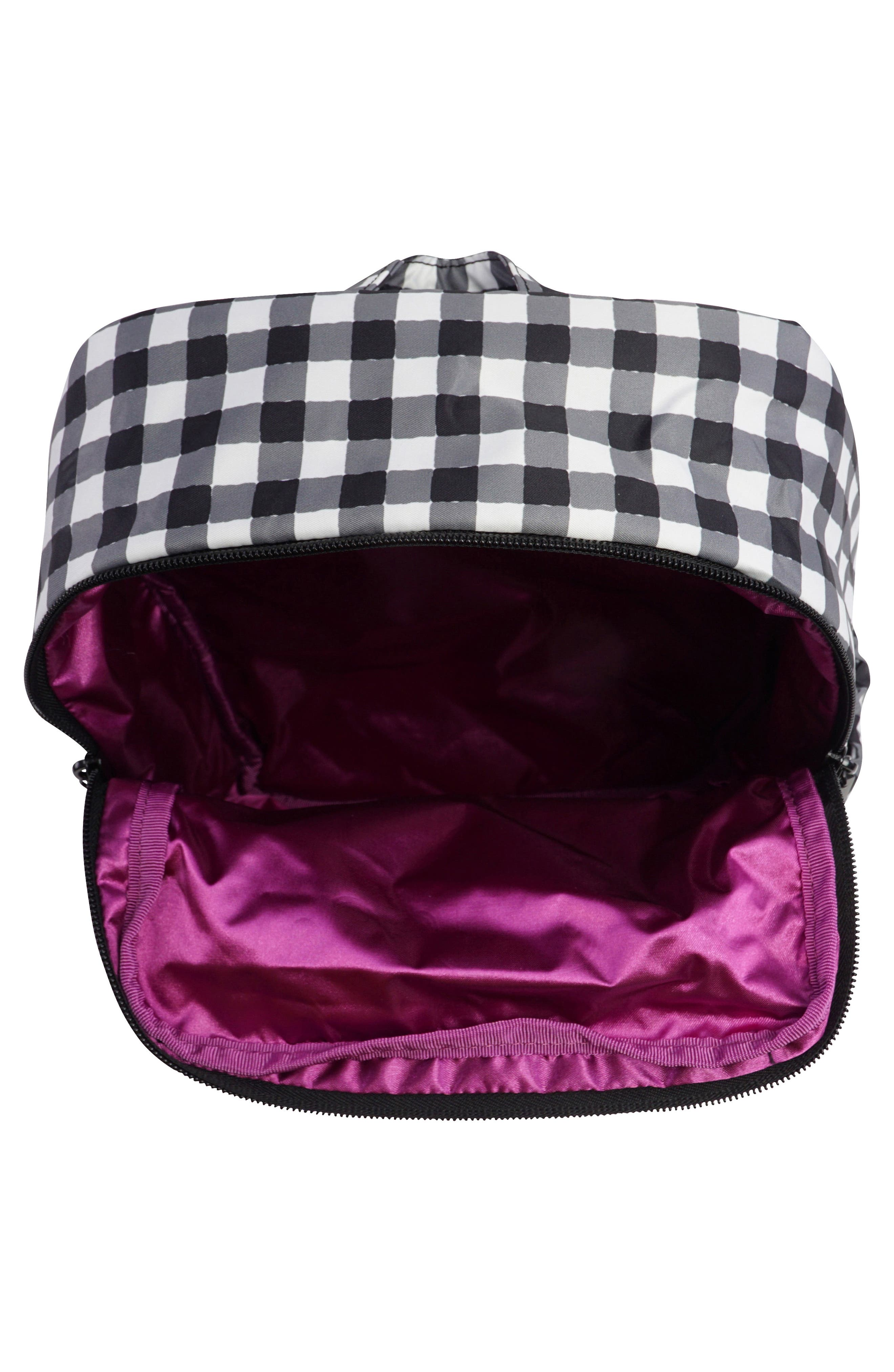 'Mini Be - Onyx Collection' Backpack,                             Alternate thumbnail 3, color,                             Gingham Style
